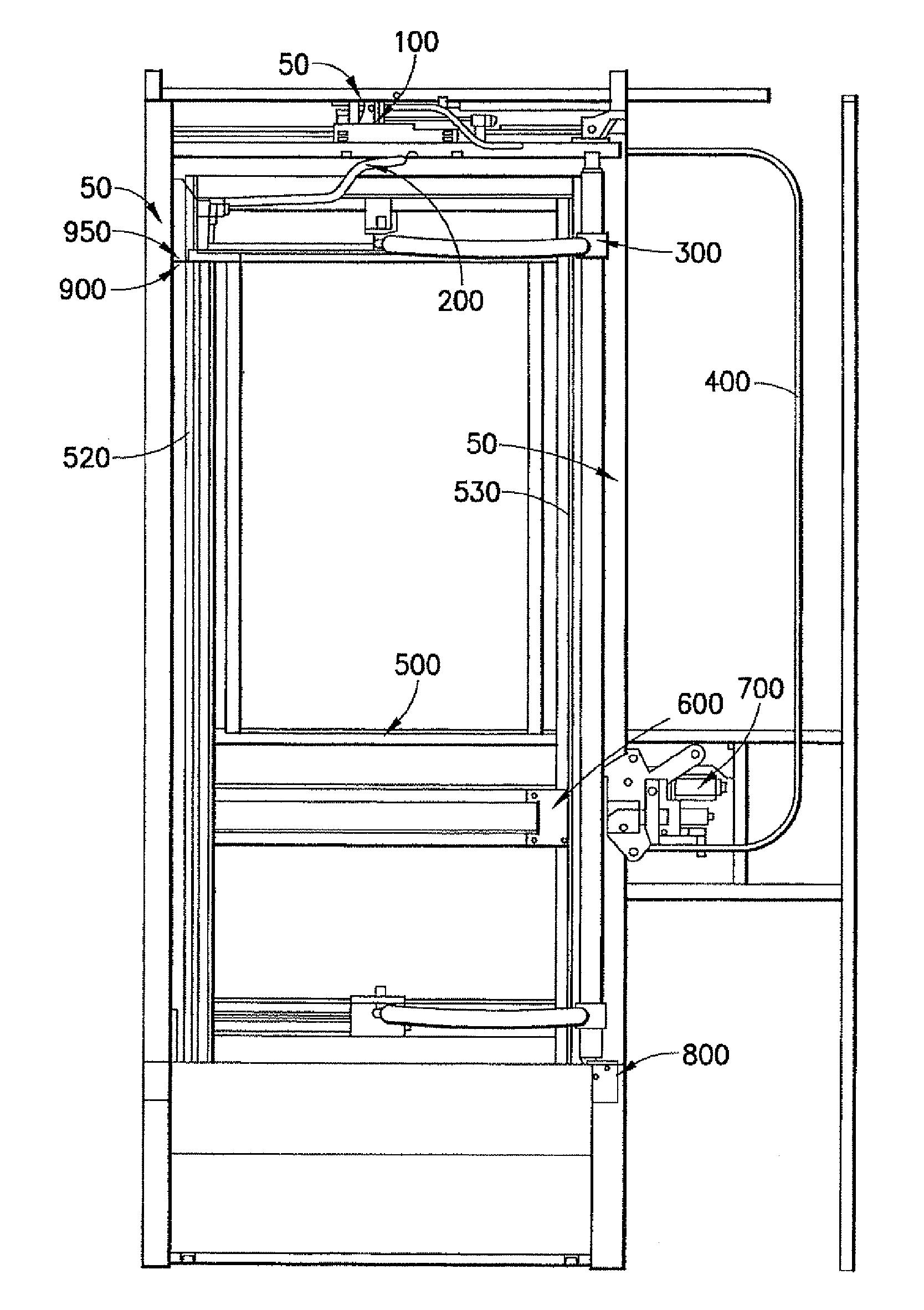 Patent Us8528961 Electric Swing Plug Door Operator With