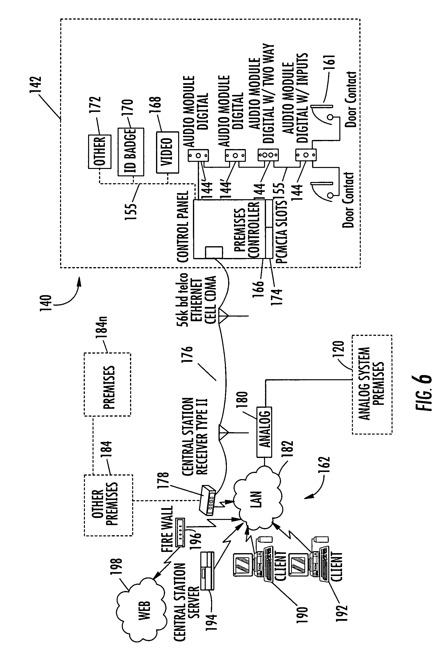 US08531286 20130910 D00008 patent us8531286 system and method for monitoring security at a sonitrol alarm wiring diagram at nearapp.co
