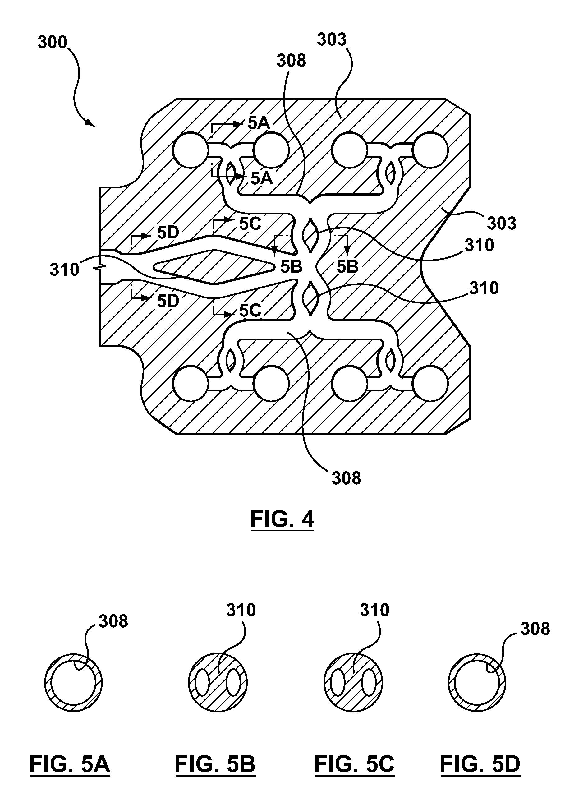 Patent US8535049 - Hot-runner system including melt-flow ...