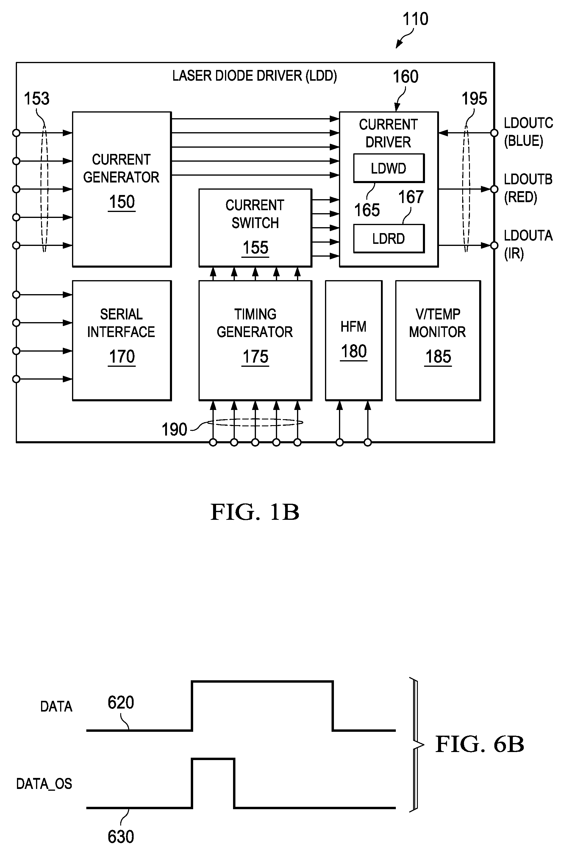 Brevet Us8537868 Laser Diode Write Driver Feedback Current Mirror Diagram Highspeed Patent Drawing