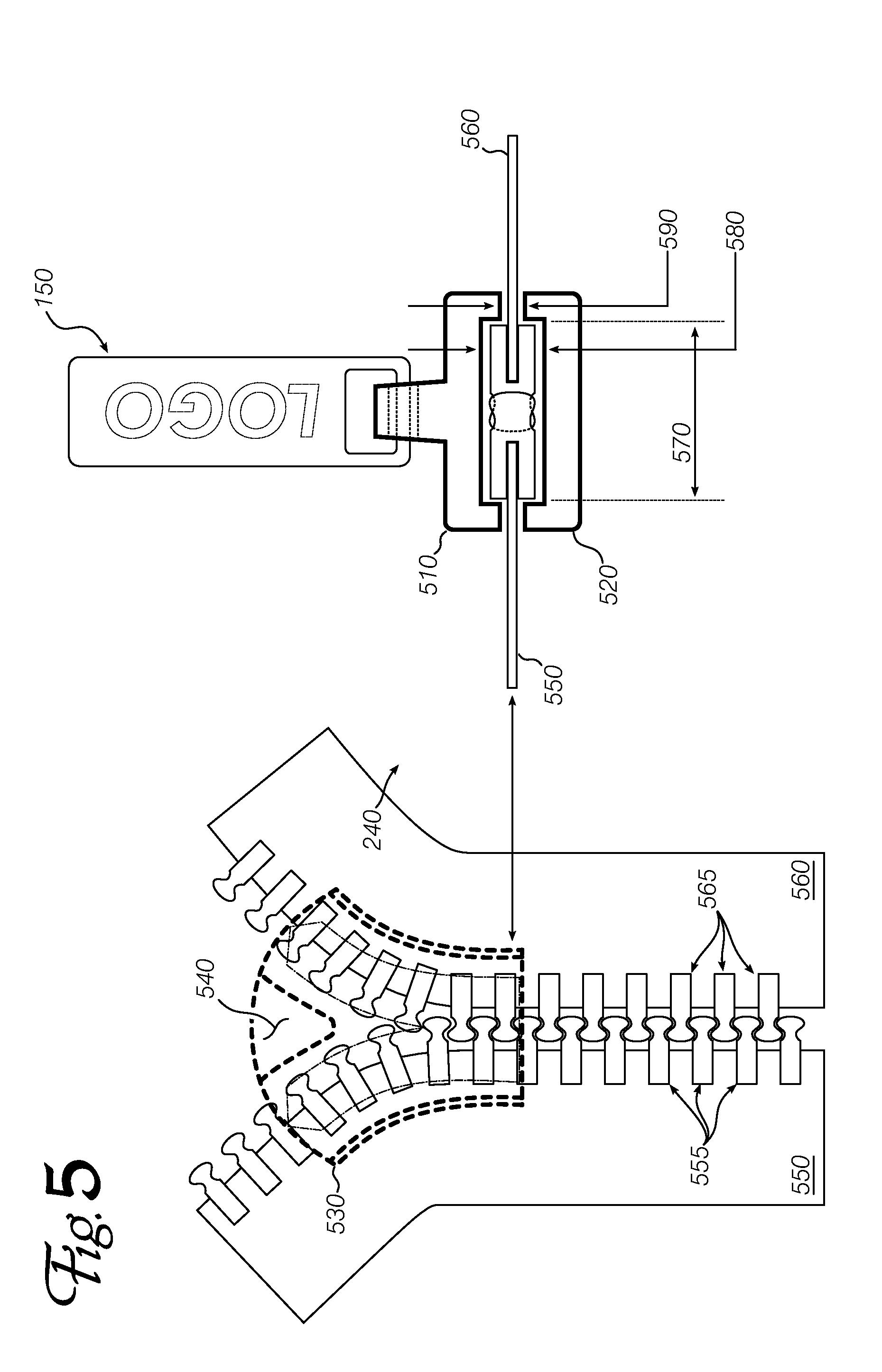 Patent US8539651 - Zipper repair slider - Google Patents