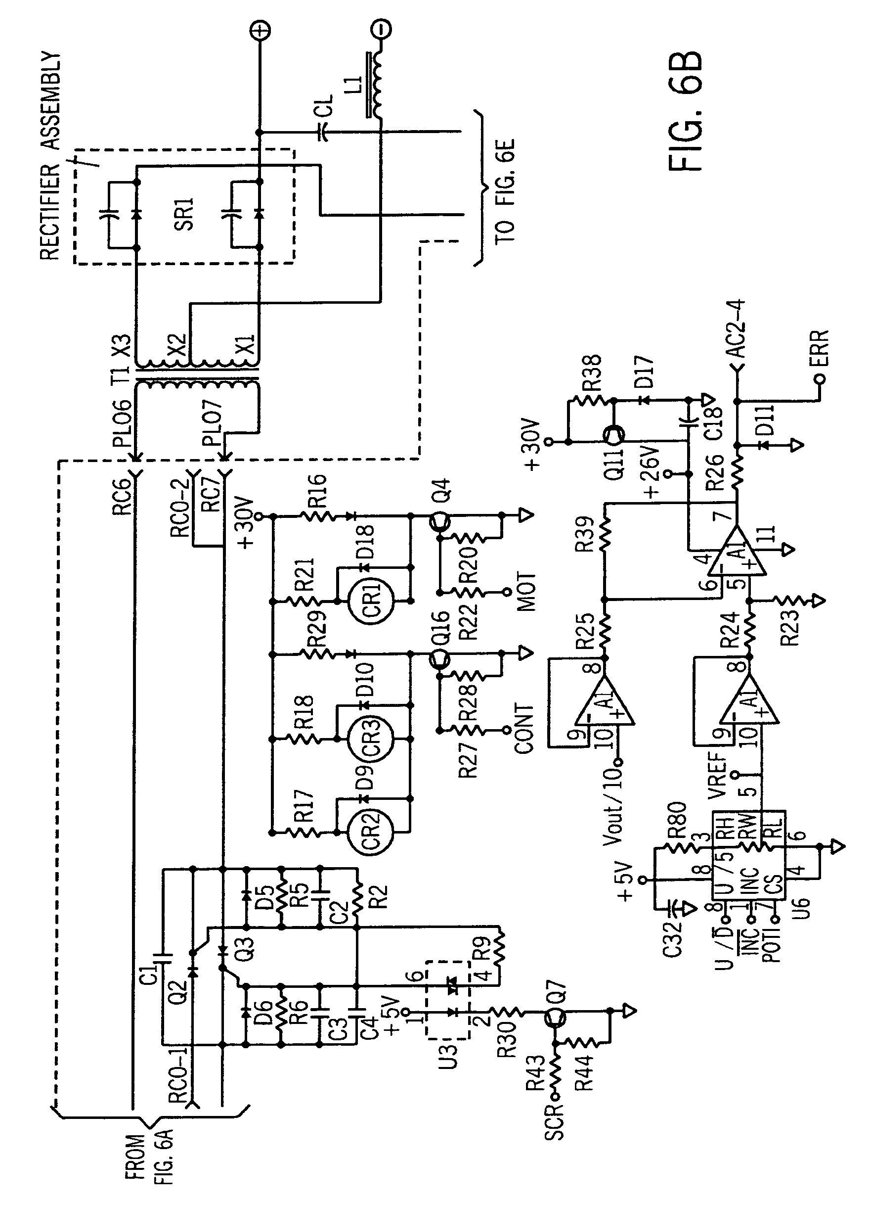US08546728 20131001 D00007 patent us8546728 welder with integrated wire feeder having Welder Circuit Diagram at bakdesigns.co