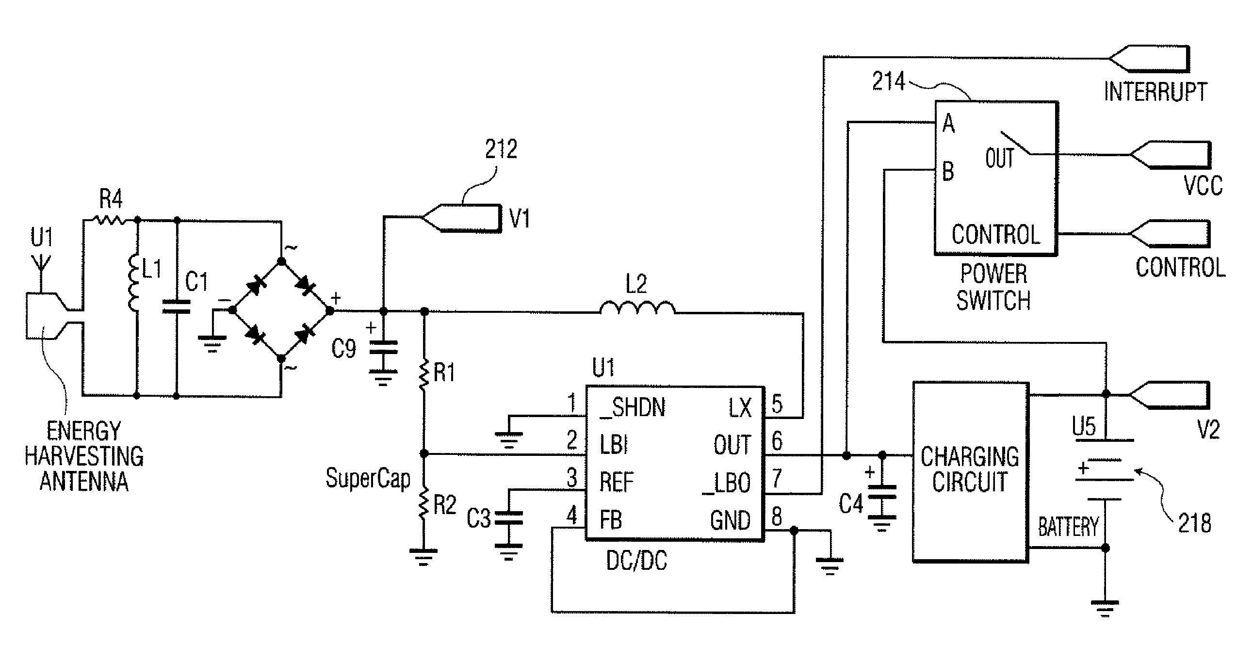 patent us8552597 - passive rf energy harvesting scheme for wireless sensor