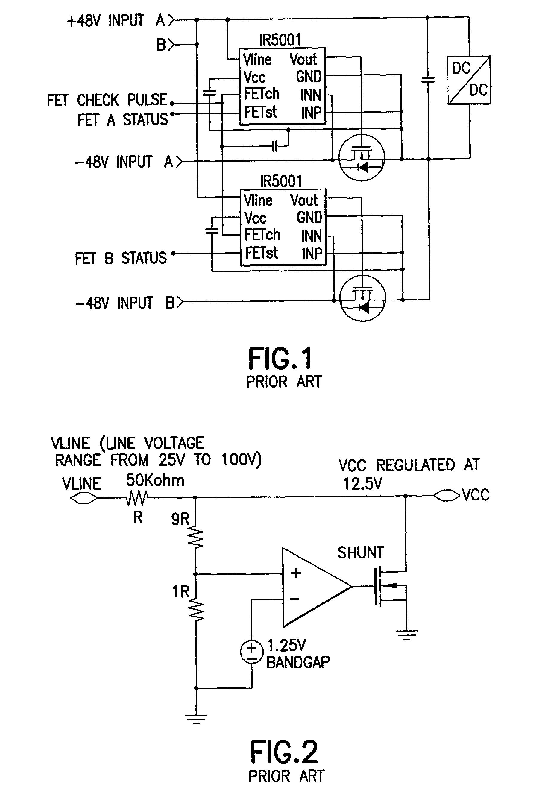 patent us8552698 - high voltage shunt-regulator circuit with voltage-dependent resistor