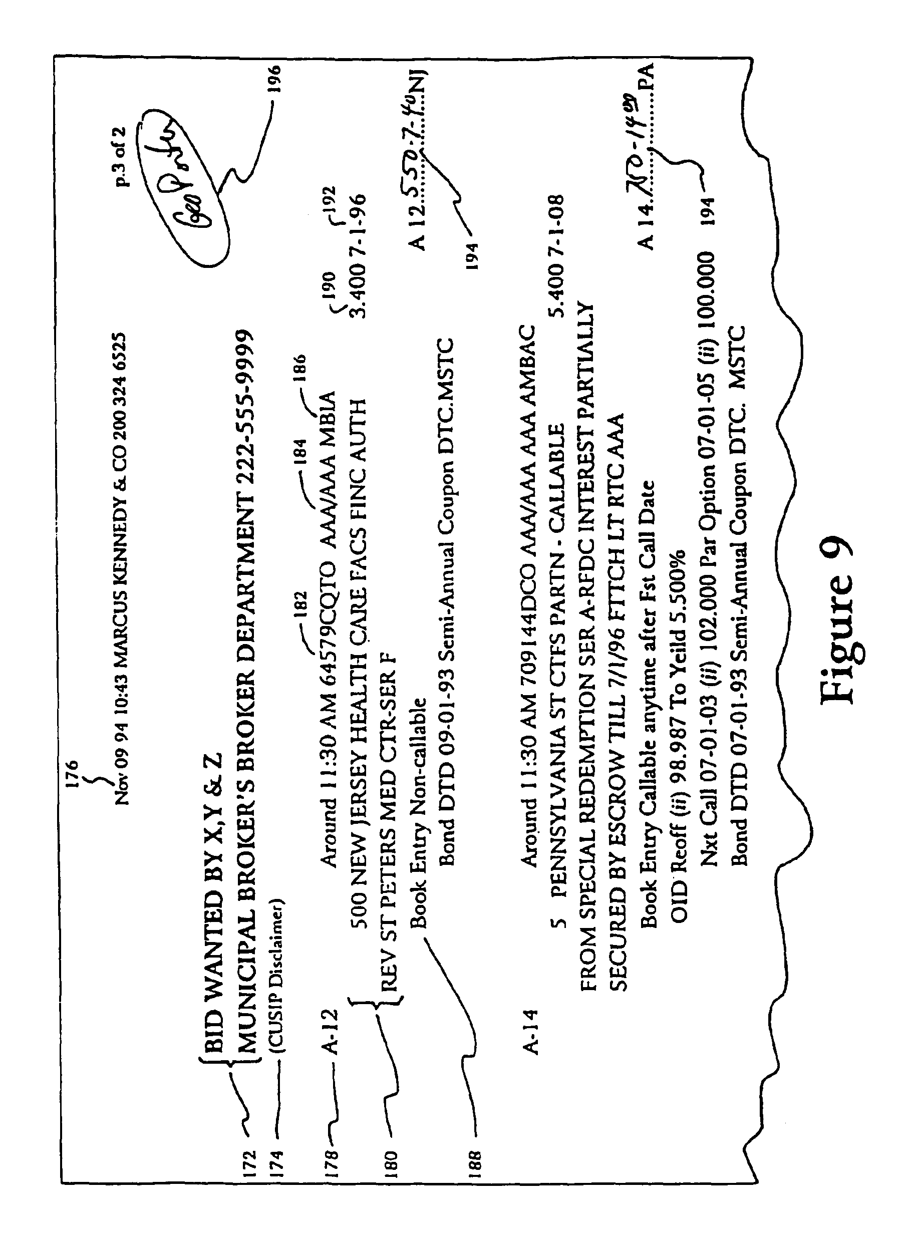 Patent US Methods and systems for retrieving data