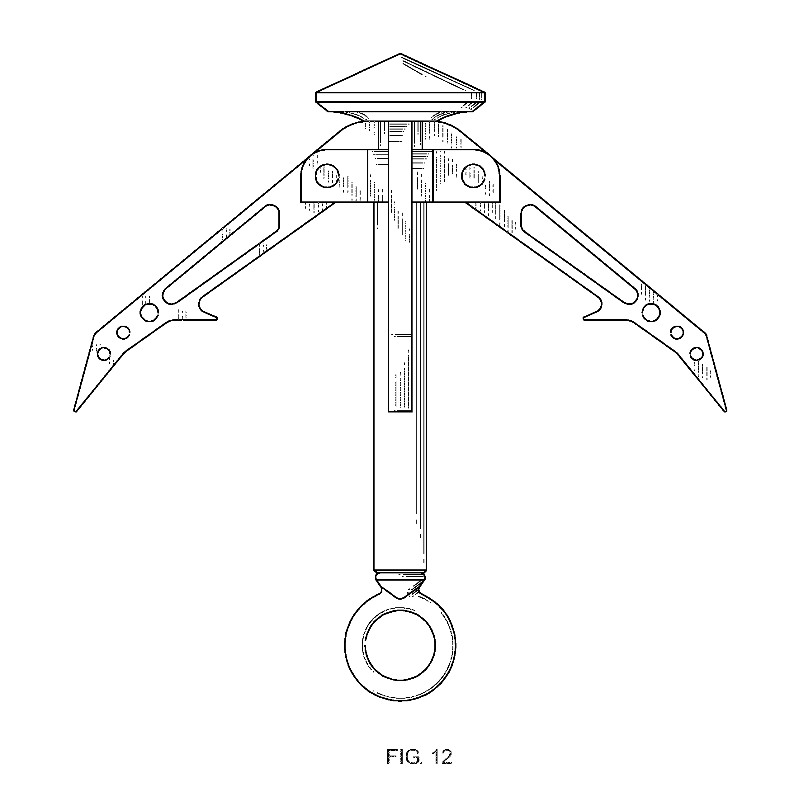 patent us8556313 - multi-configuration grappling hook system