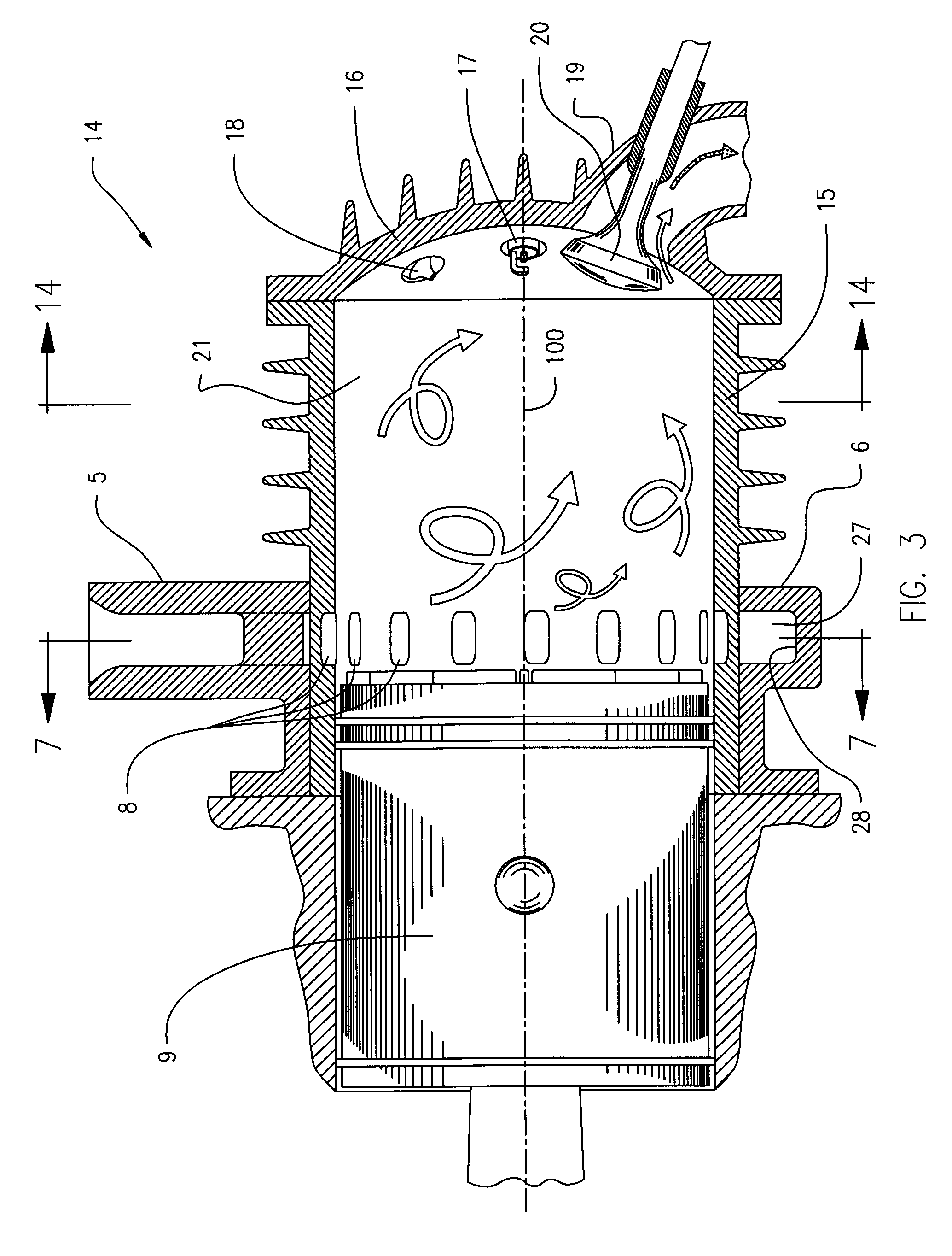 Small 4 Stroke Engine Diagram Cycle