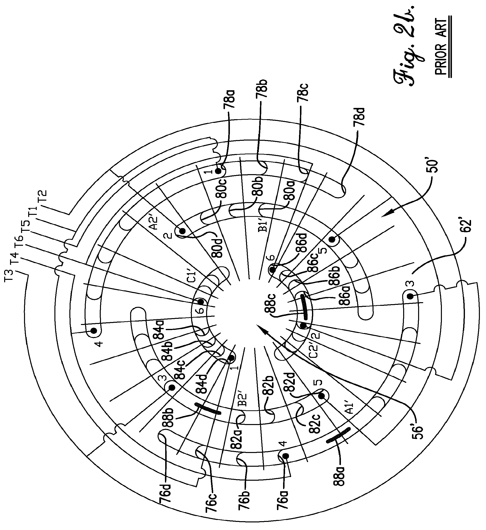 US08564167 20131022 D00003 patent us8564167 3t y winding connection for three phase 3 phase motor winding diagrams at nearapp.co