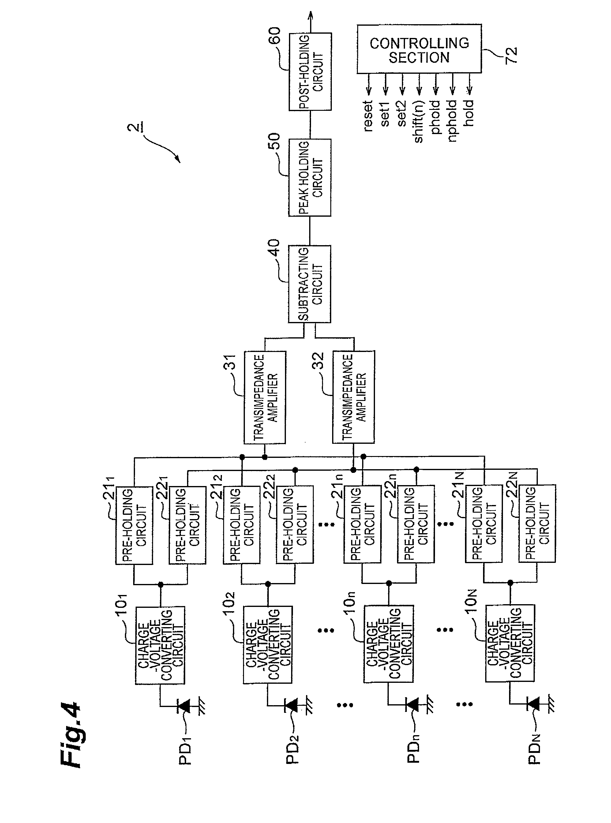 Patent Us8564704 Solid State Imaging Device Having Transimpedance Proposed Amplifier Schematic Drawing