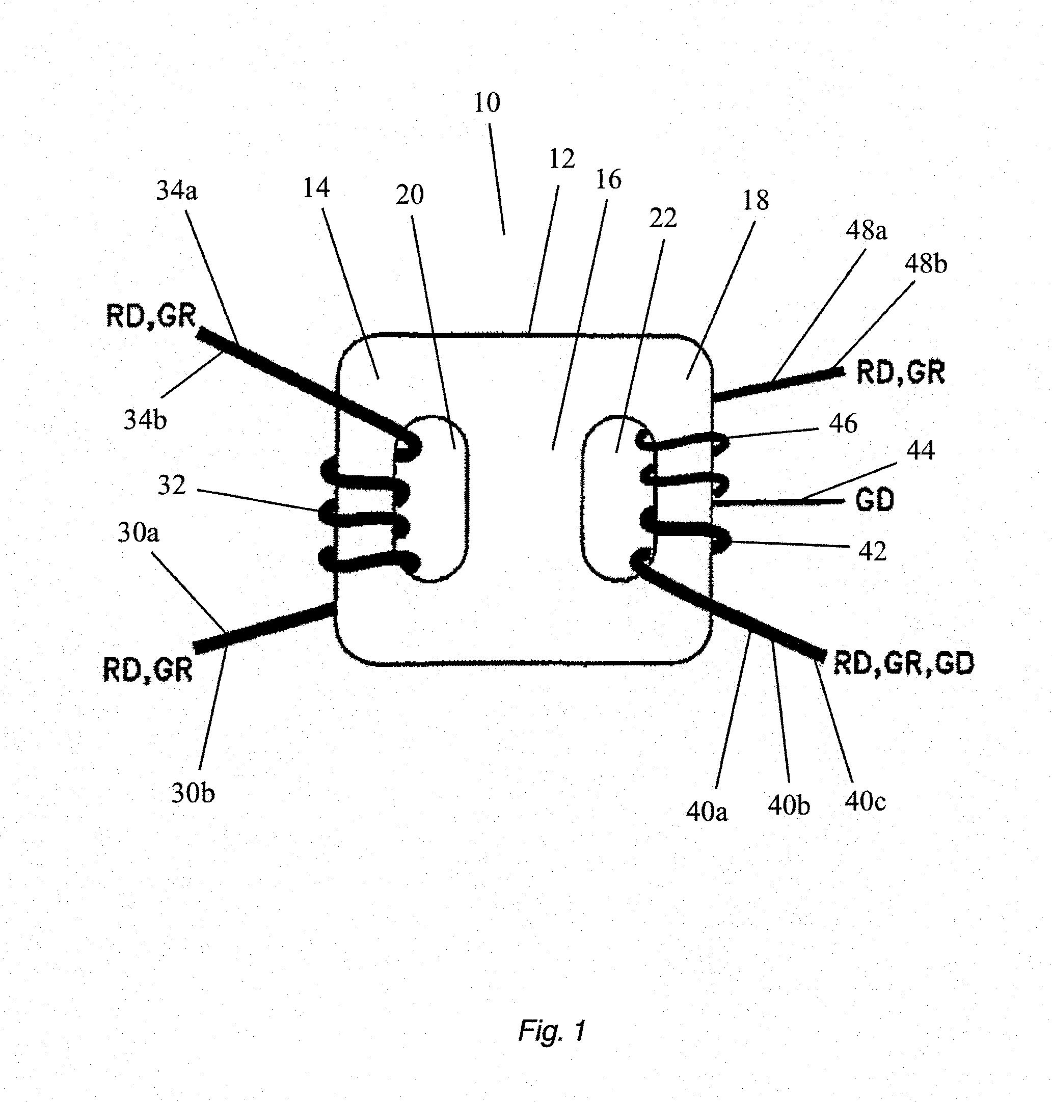 patent us8576037 - dual output autotransformer