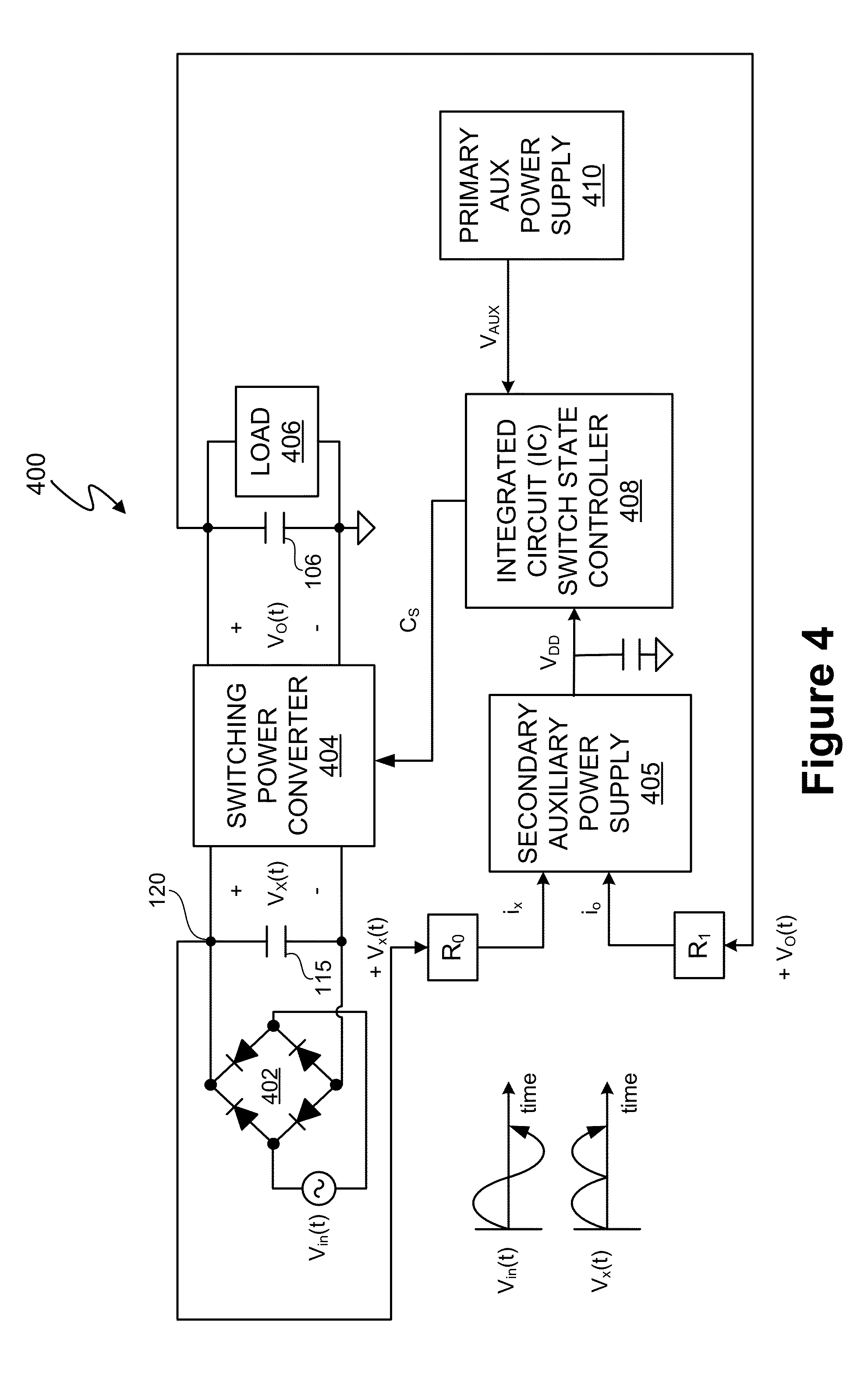 Patent Us8576589 Switch State Controller With A Sense Current 5v 3a Regulator Switchingregulatorcircuit Powersupplycircuit Drawing
