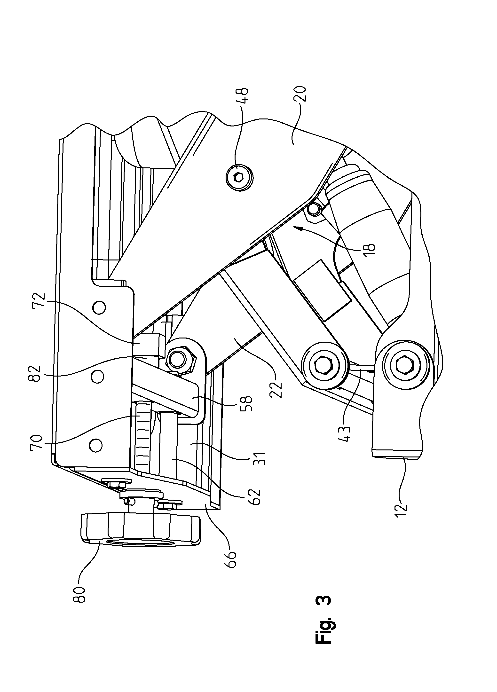 US08585004 20131119 D00003 patent us8585004 air ride seat pedestal with independent height,30 Rv Pedestal Wiring Diagram