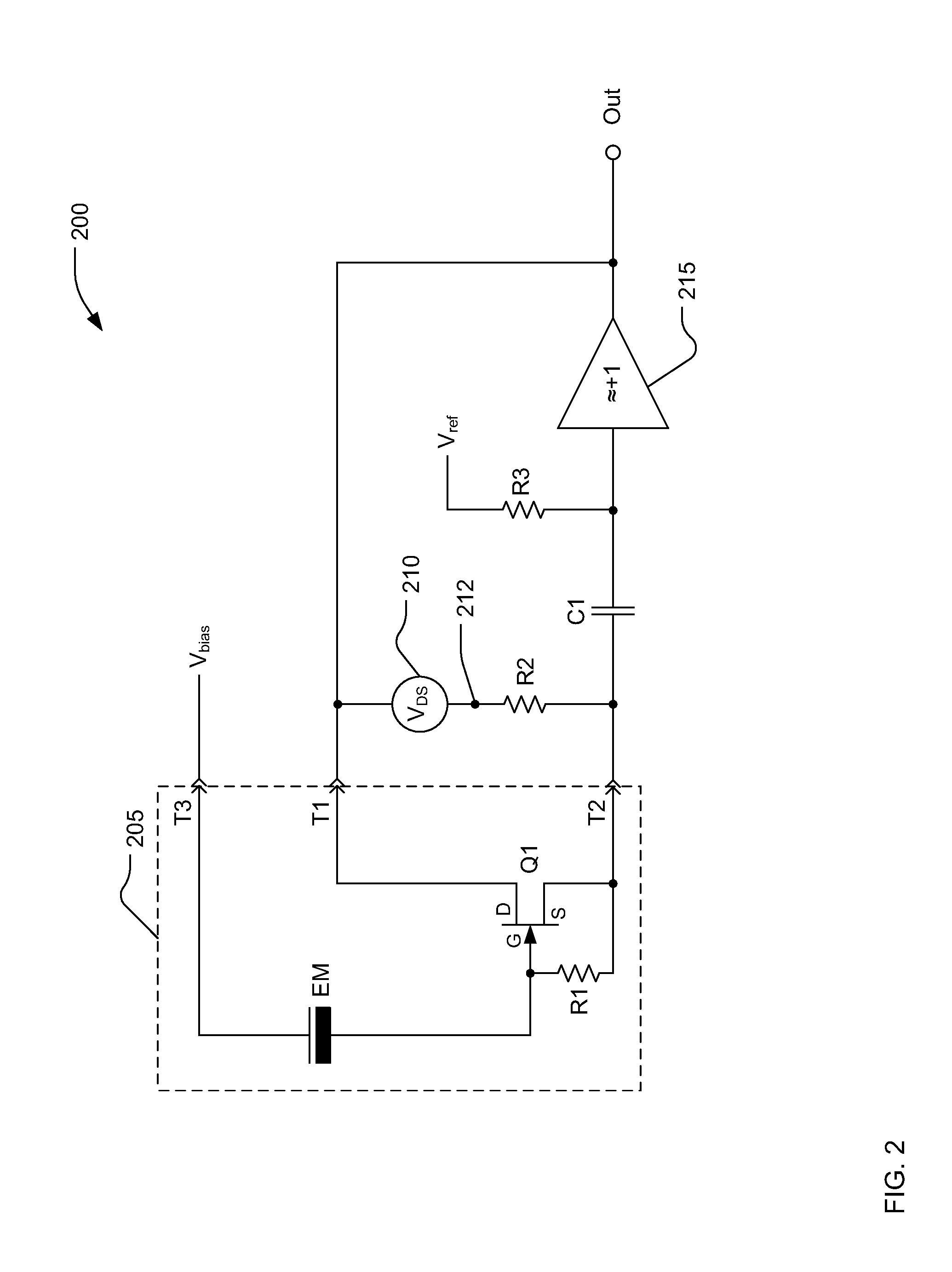 patent us8588433 - electret microphone circuit