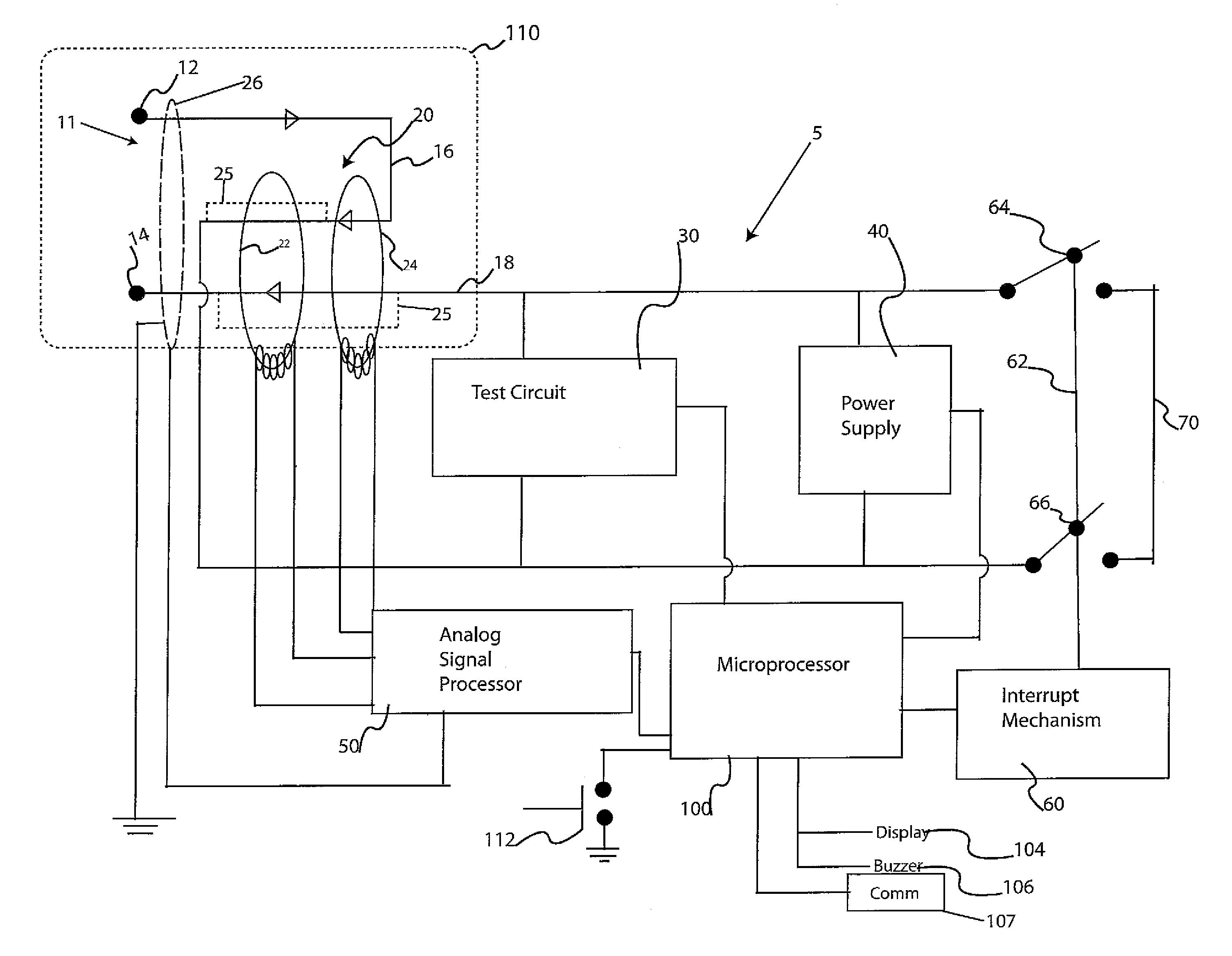 Wiring Arc Fault Schematics Diagrams Breaker Patent Us8599523 Circuit Interrupter Google Installing Breakers