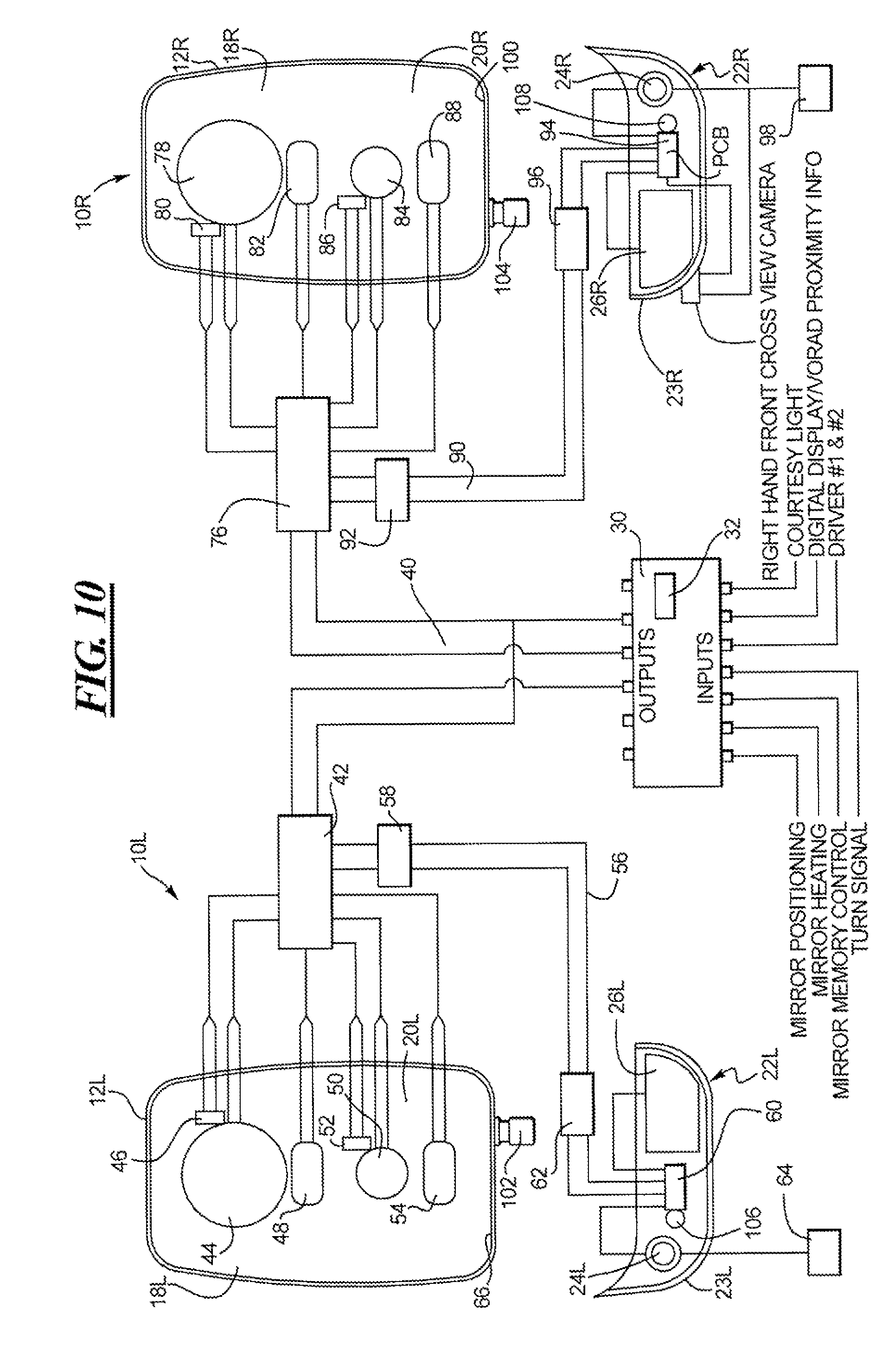US08602573 20131210 D00007 patent us8602573 electronics module for mirrors google patents velvac mirror wiring diagram at bakdesigns.co