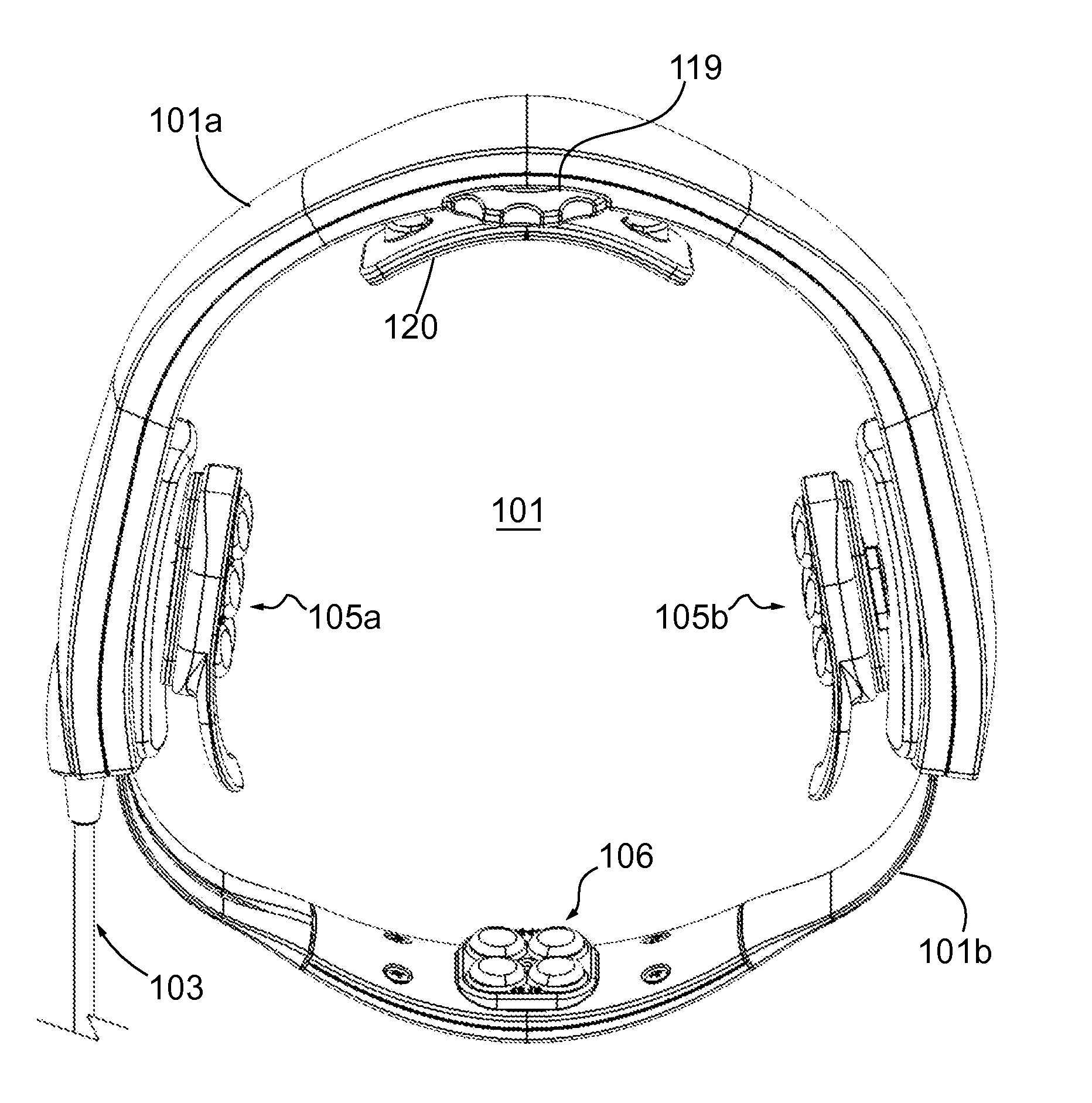 Patent Us8603014 Hands Free Operator Independent Transcranial