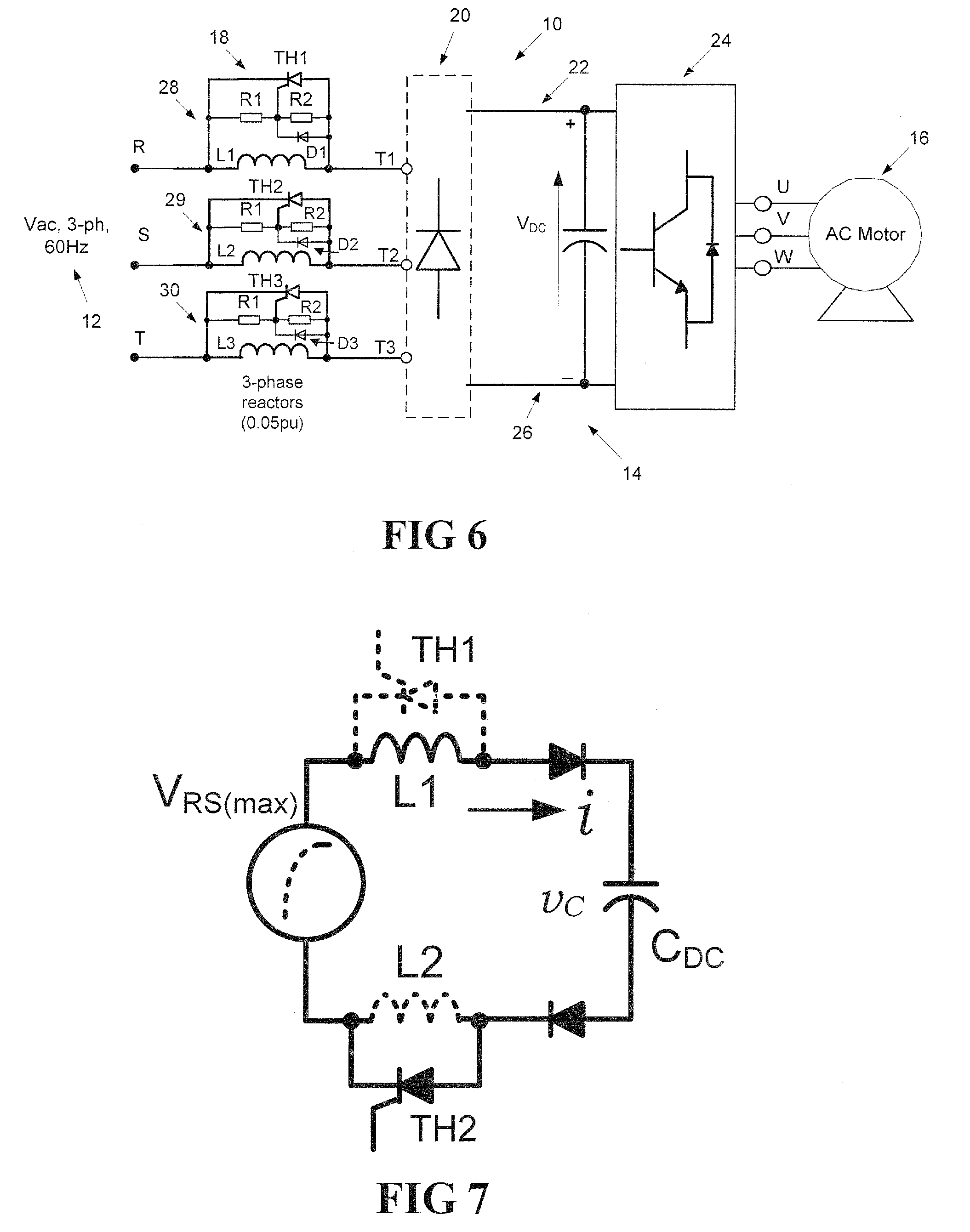 patent us8605469 ac side soft charge circuit for variable on simple electrical circuit with inductor diagram