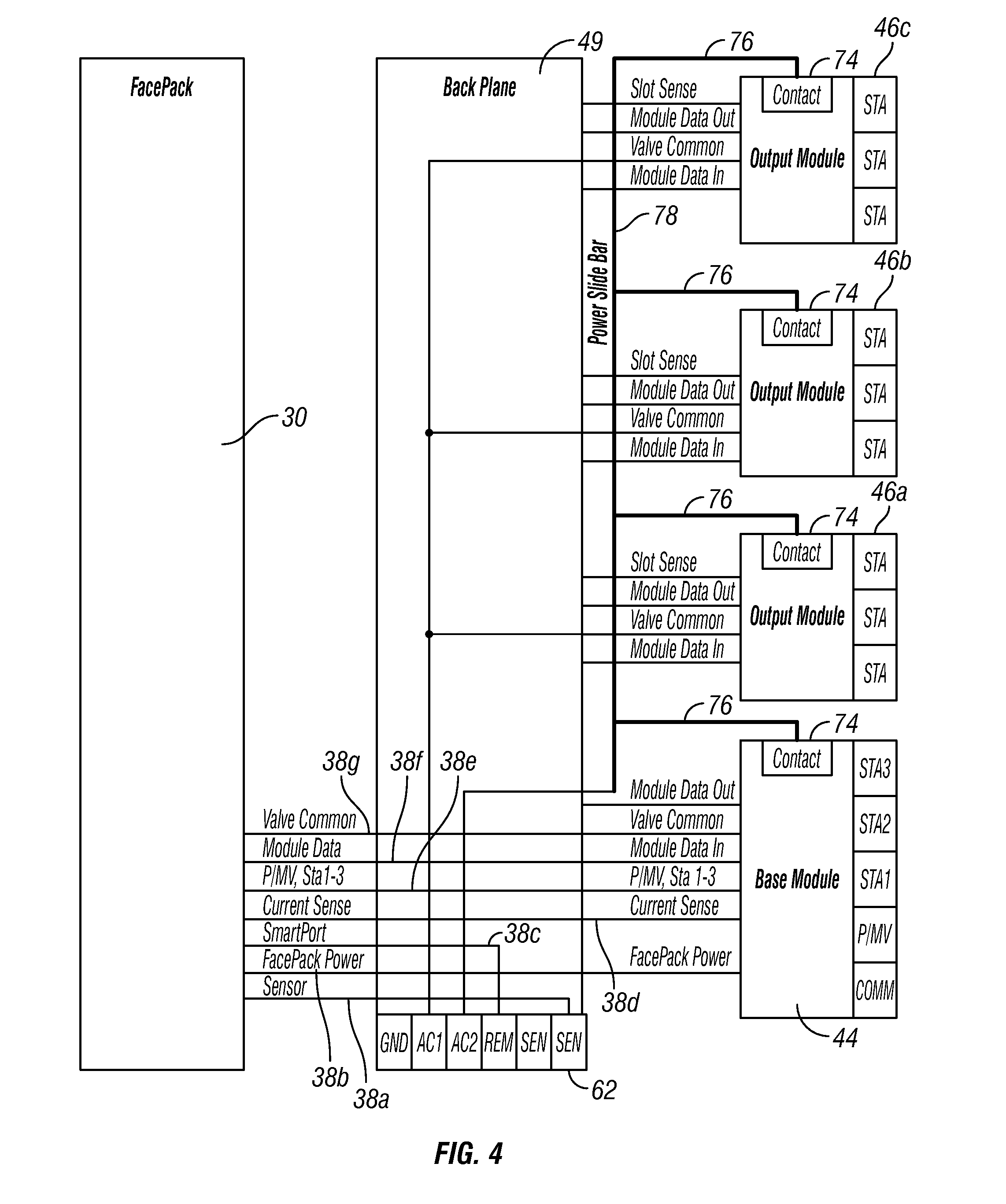 US08606415 20131210 D00003 patent us8606415 irrigation system with et based seasonal moore industries sta wiring diagram at fashall.co