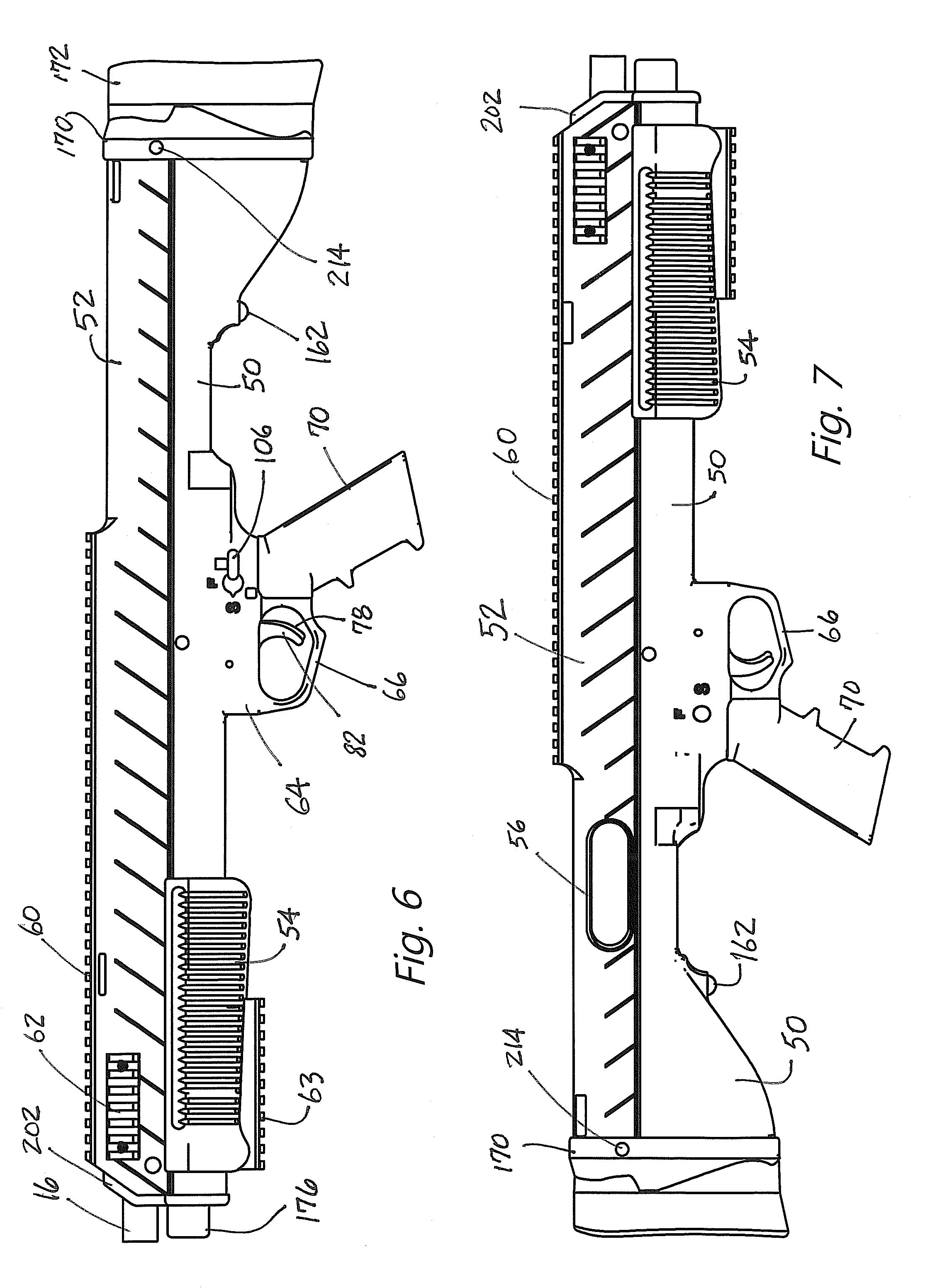patent us8615915 bullpup conversion kit for firearm google patents
