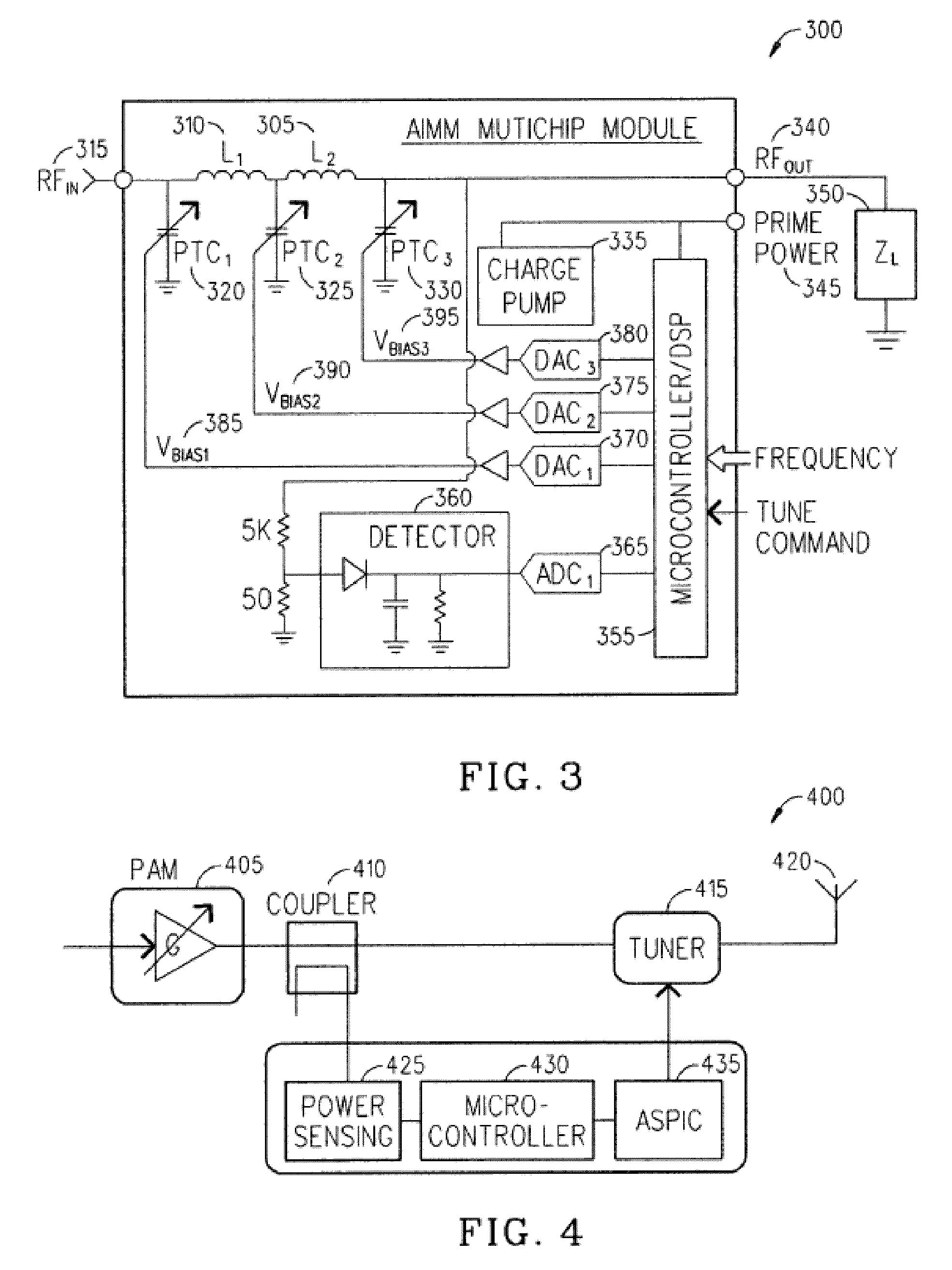 Patent Us8620236 Techniques For Improved Adaptive Impedance Temperaturecompensated Diode Input Power Detector Circuit 555 Drawing