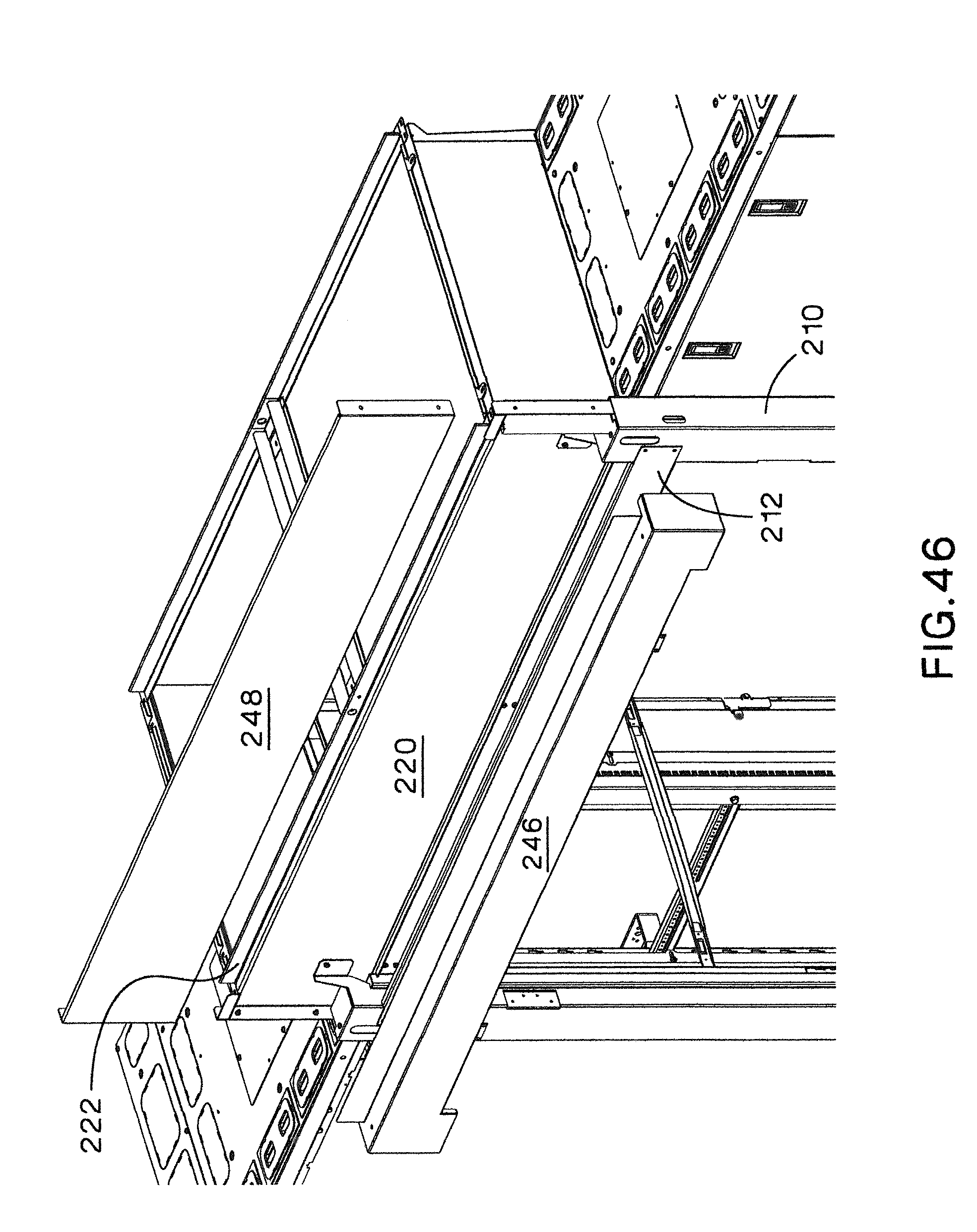 patent us8628153 aisle containment system google patents