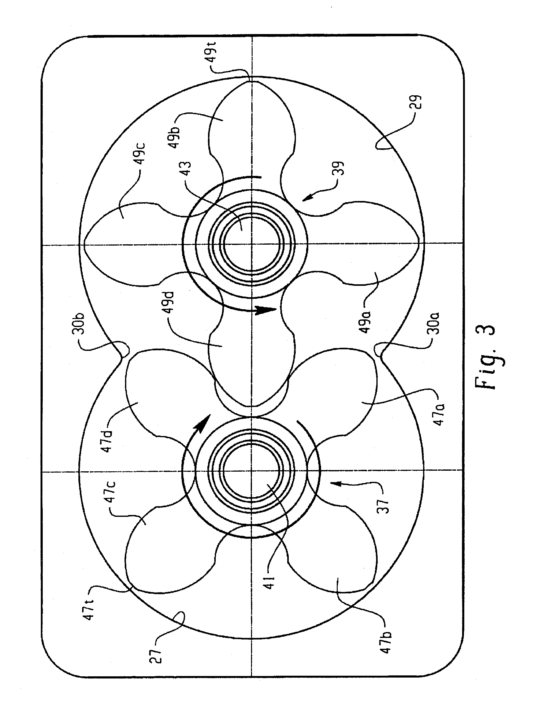 Patent US8632324 - Optimized helix angle rotors for roots-style ...