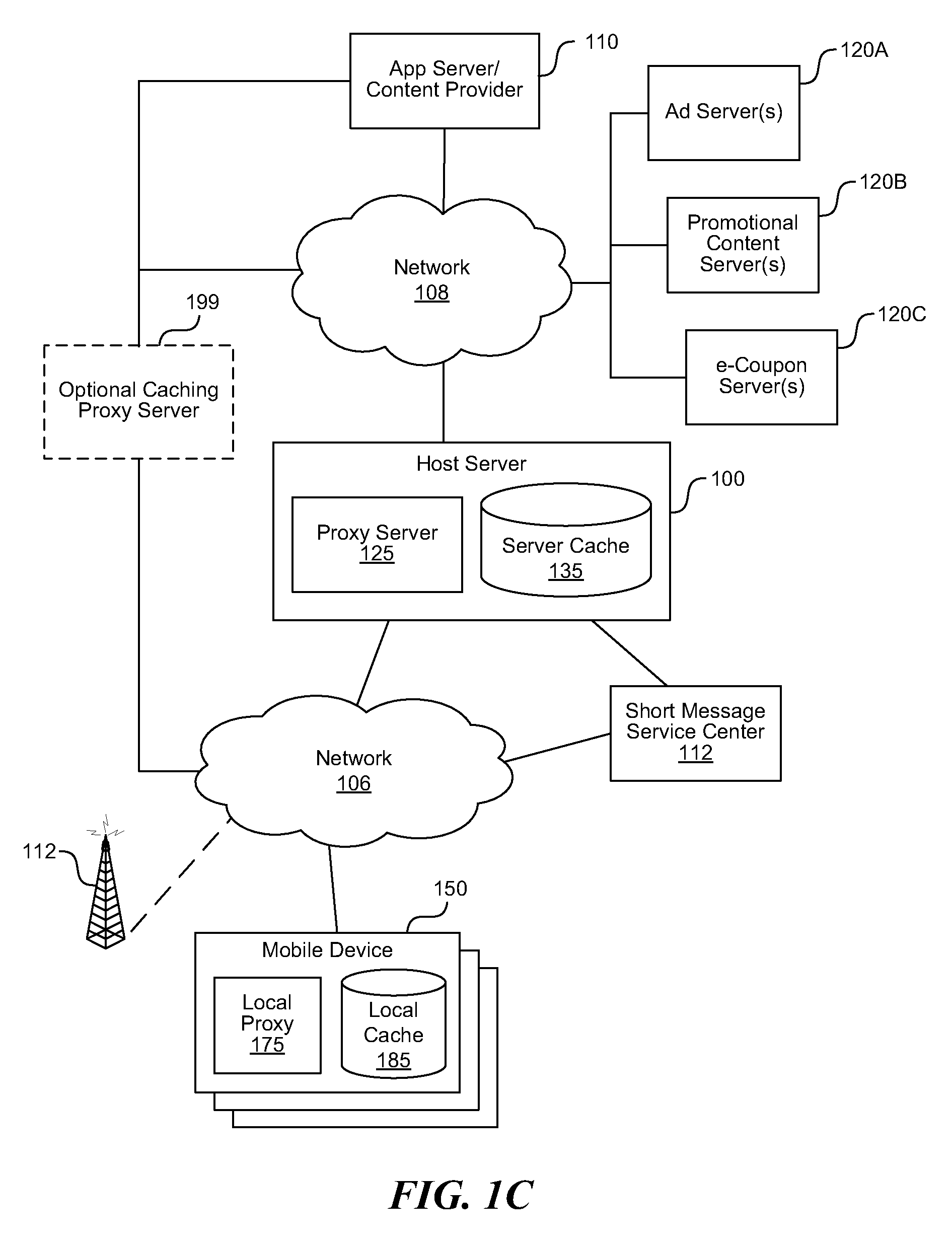 US08635339 20140121 D00003 patent us8635339 cache state management on a mobile device to on mobile device management policy template