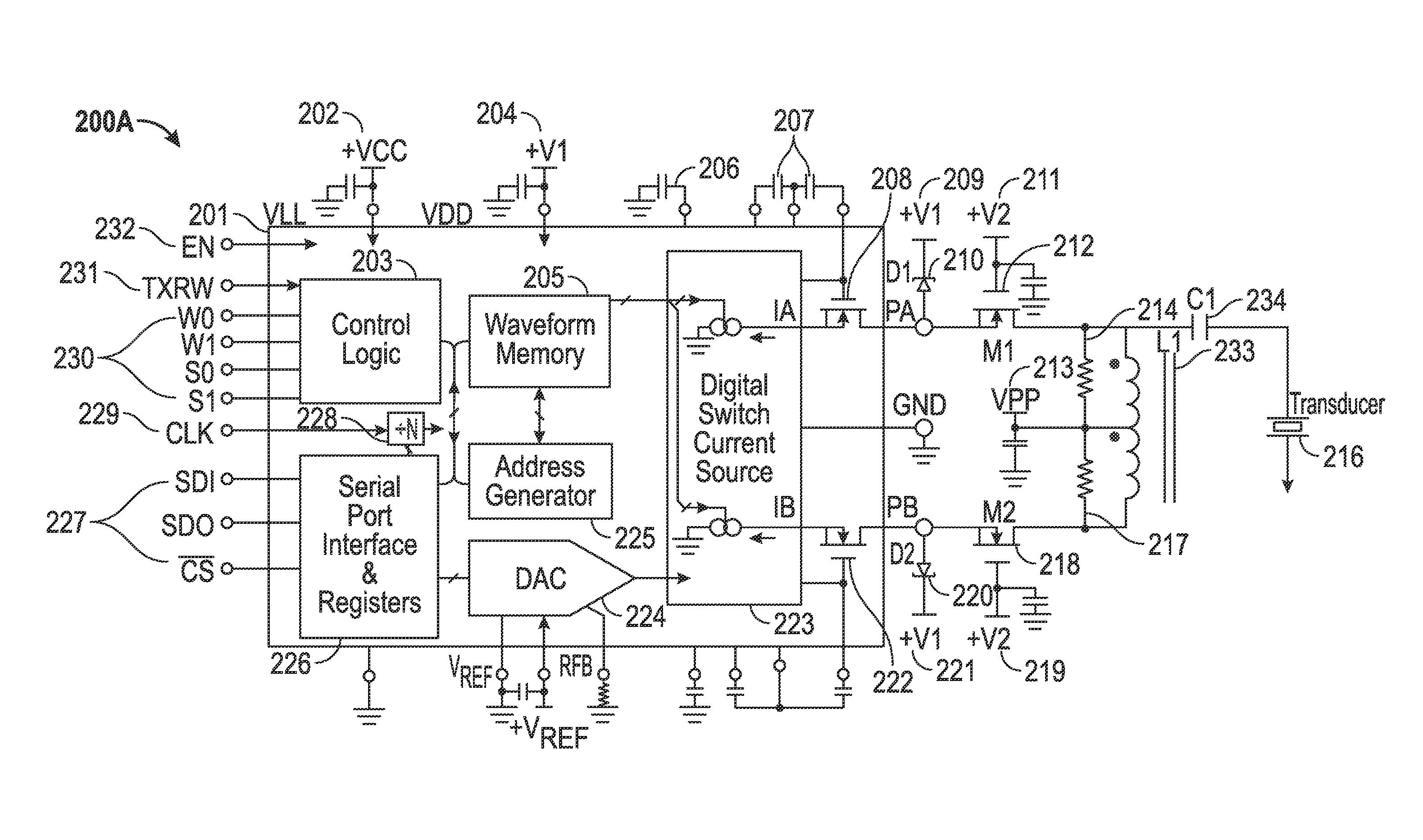Patent Us8648627 Programmable Ultrasound Transmit Beamformer Generator Circuit And Ultrasonic Buy Drawing