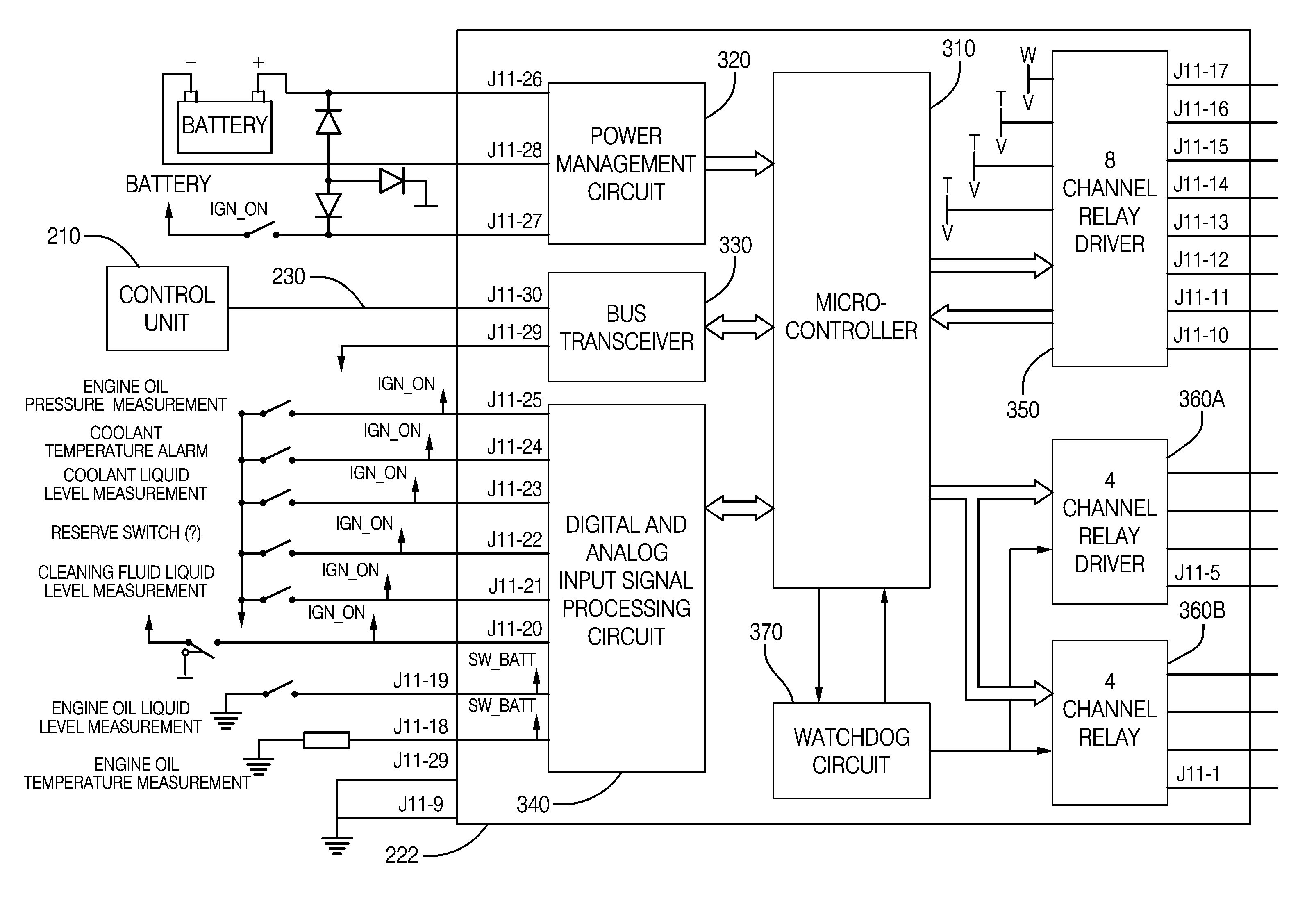 US08650351 20140211 D00000 patent us8650351 electrical power distribution system for a gentex 313 wiring diagram at sewacar.co