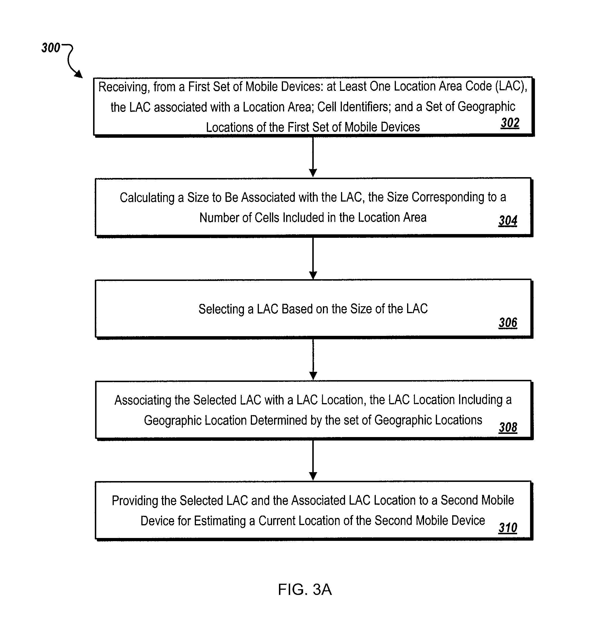 Patent US8655371  Location determination using cached location