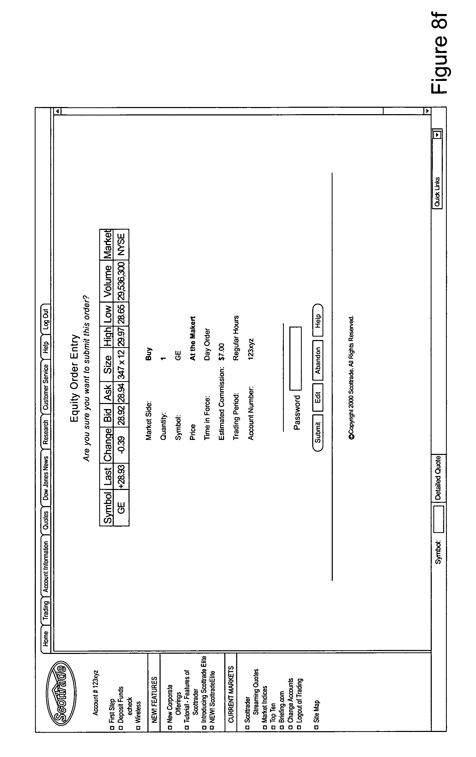 Scottrade Stock Quotes Patent Us8655755  System And Method For The Automated Brokerage