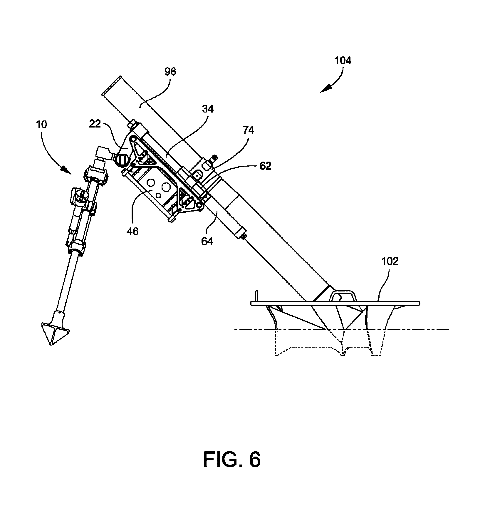Mortar Fire Control System : Patent us bipod mounted mortar fire control