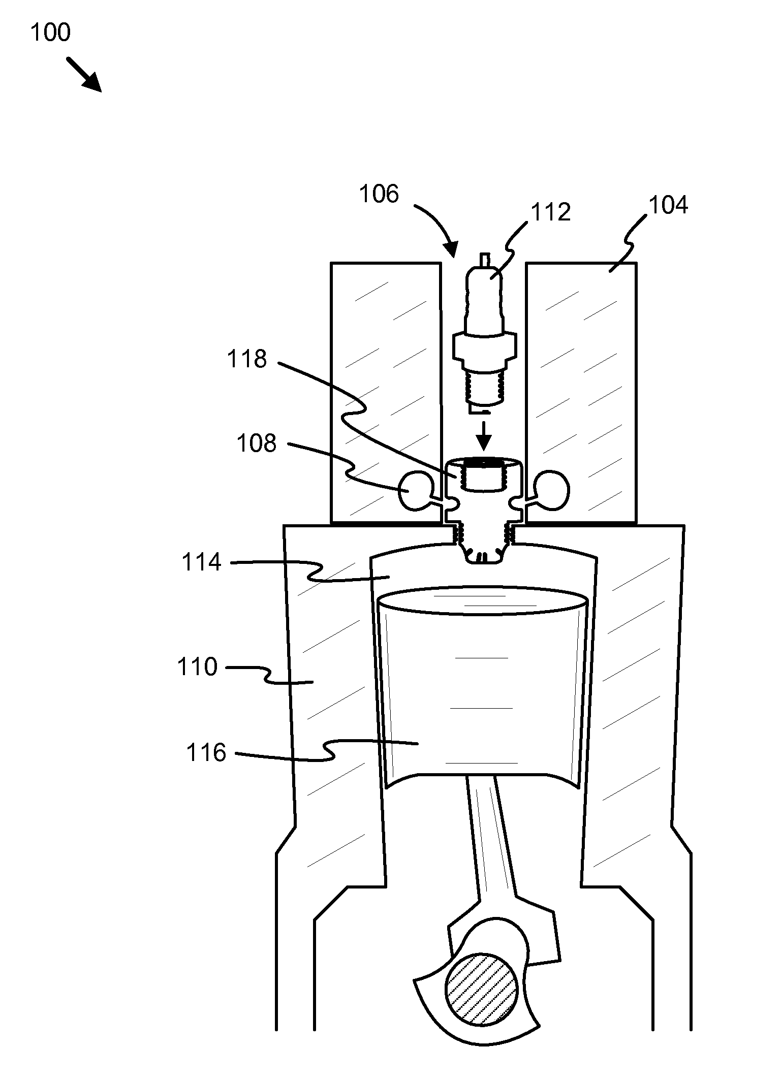 Patent Us8662053 Pre Combustion Device For An Internal Combustible Engine Diagram Drawing
