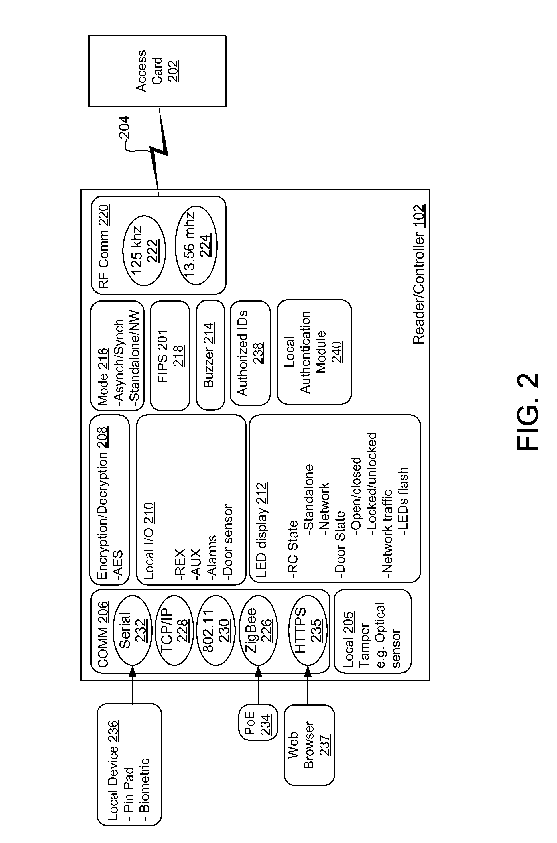 patent us8662386 method and system for controlling access to an patent drawing