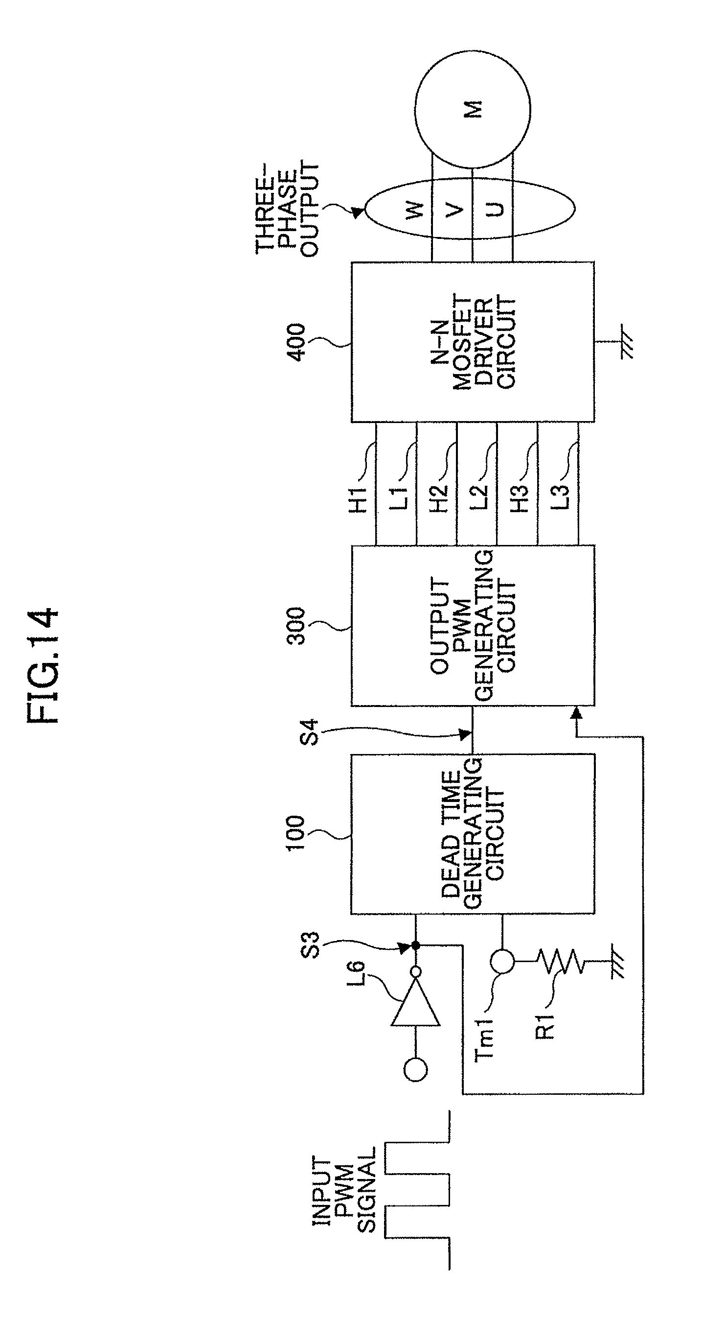 Patent Us8665003 Dead Time Generating Circuit And Motor Control The Delay With A Fet Controlcircuit Diagram Drawing