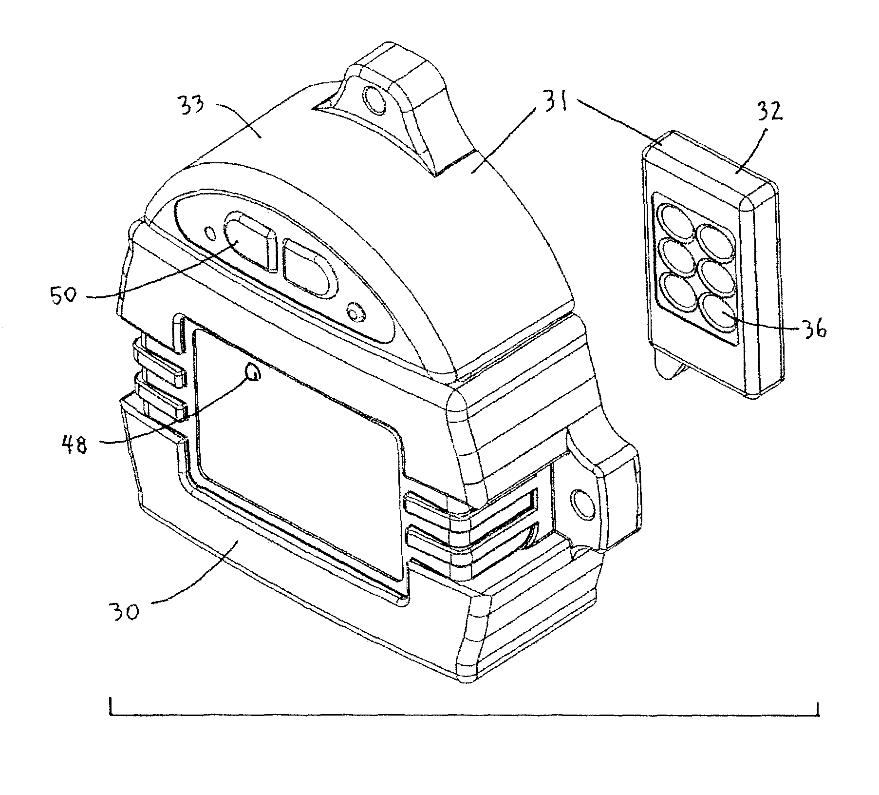 patent us8666595 one touch controller for tarp systems google patent drawing