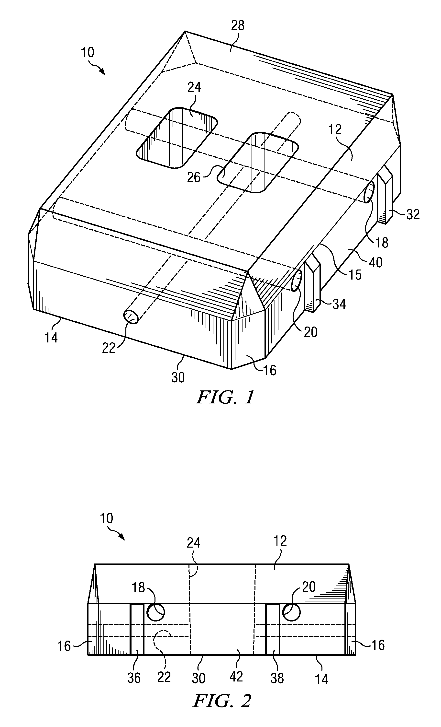 Patent Us8678705 Channel Flex Revetment Block And Cabled