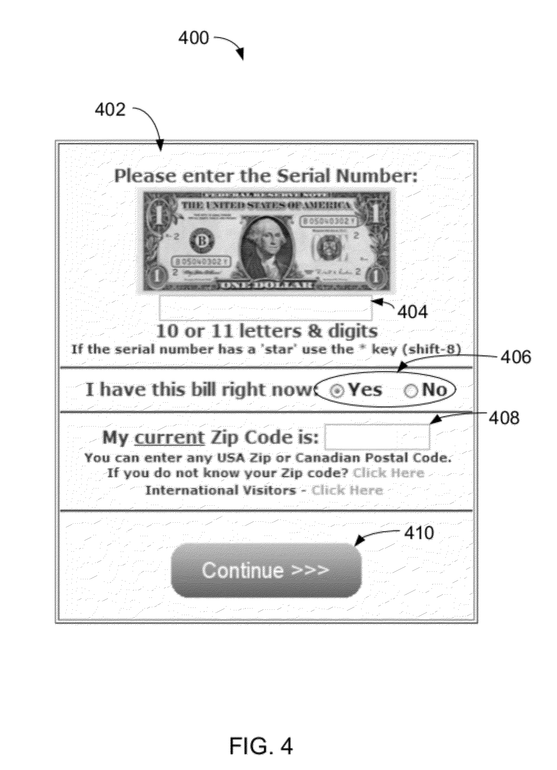 Patent US Method System And Computer Program Product For - Us zip code international