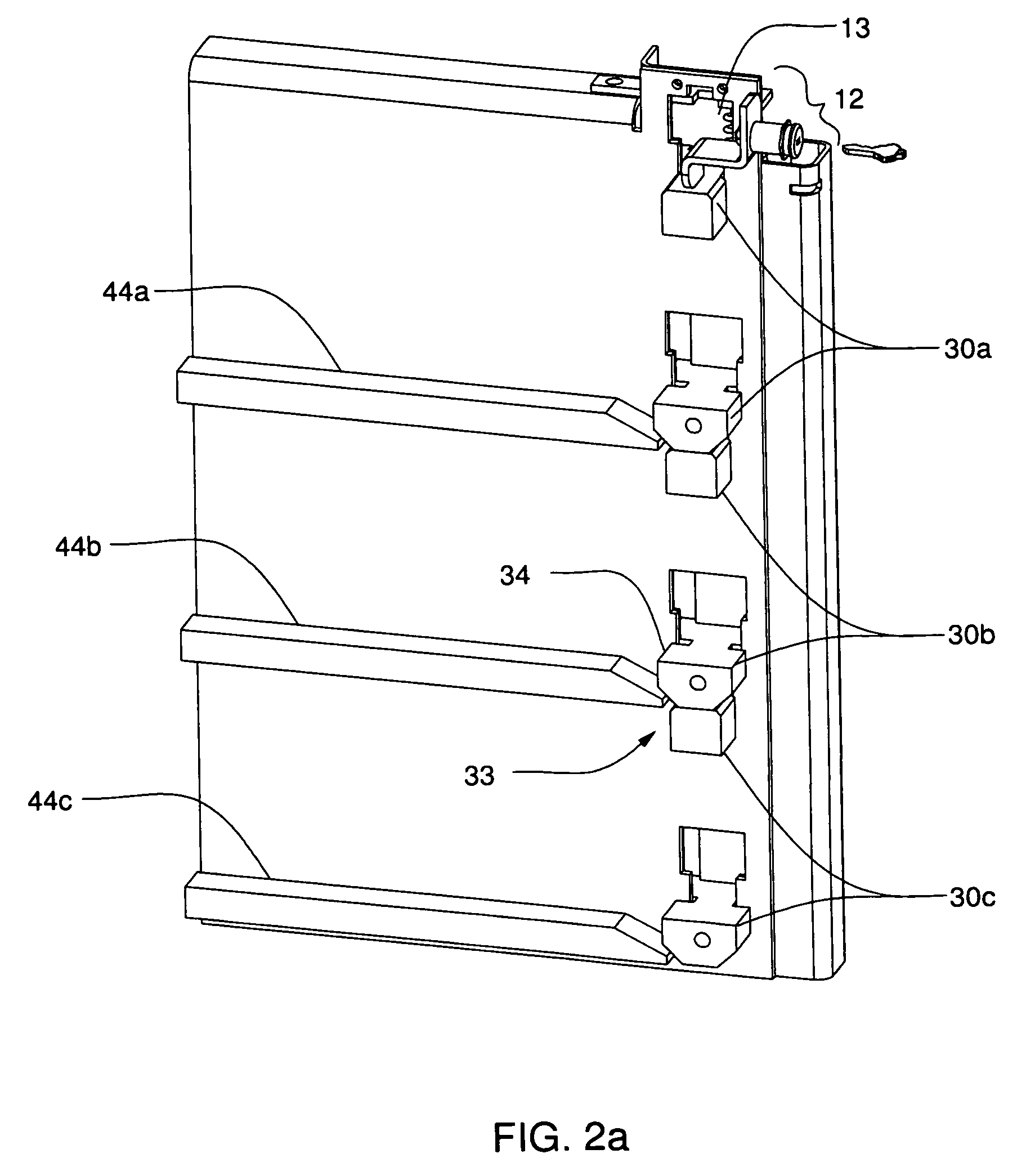Patent Us8696074 Safety Lock System For Cabinet Drawers