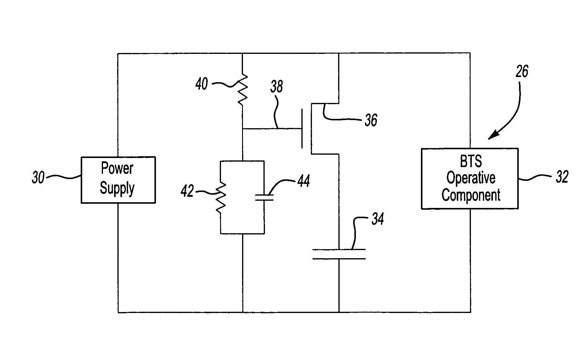 Patente Us8700093 Wireless Communication Base Station With Current Circuit Diagram Patent Drawing