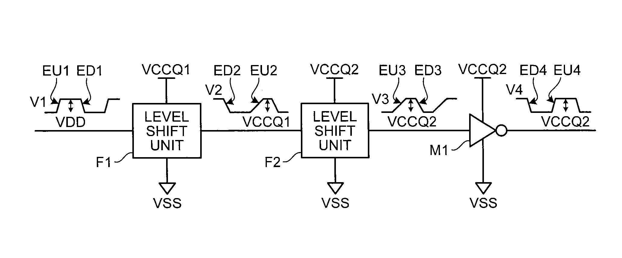 Patent Us8736346 Level Shift Circuit Google Patents Shifter Drawing