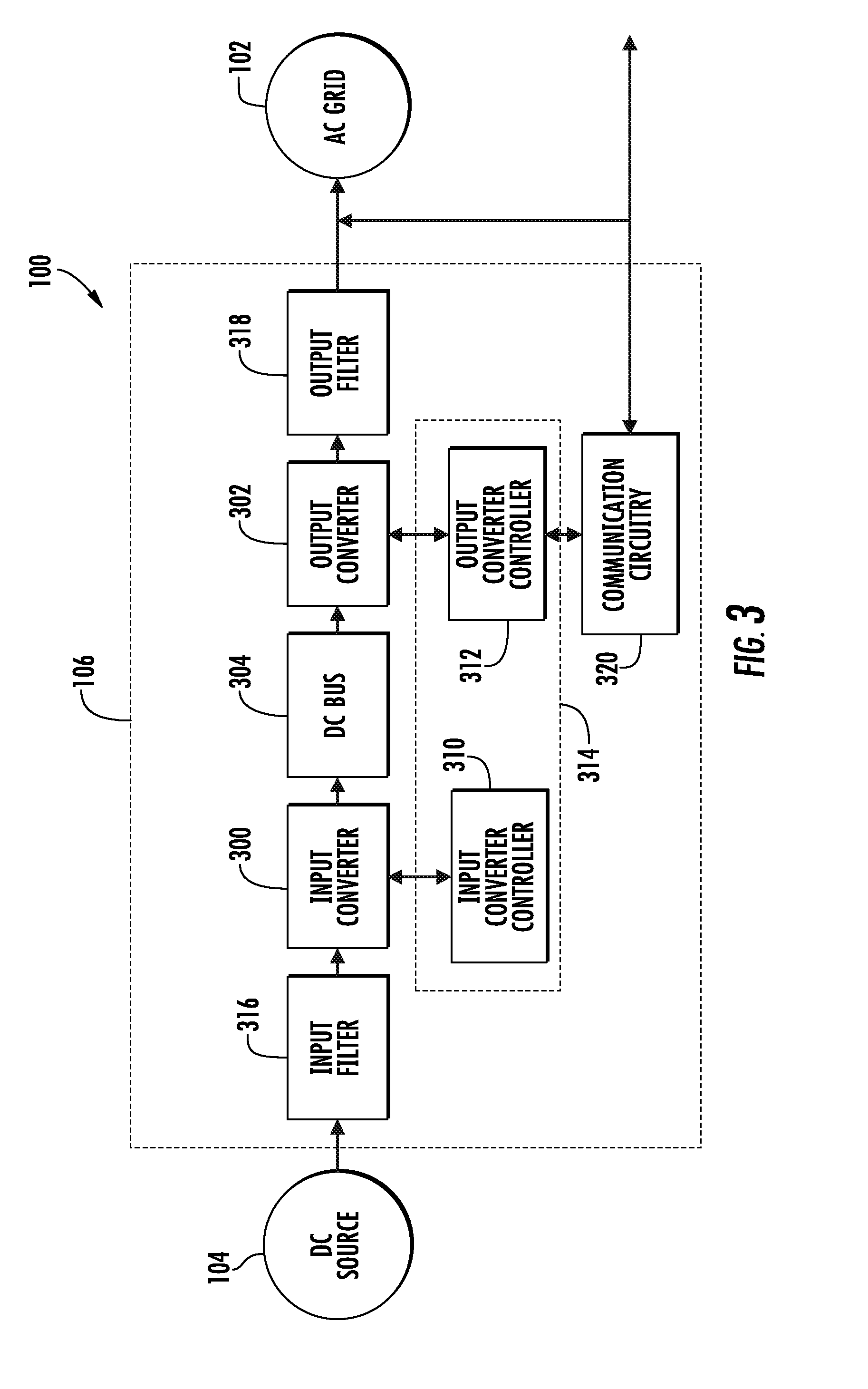 Patent US8737100 Method and apparatus for controlling an