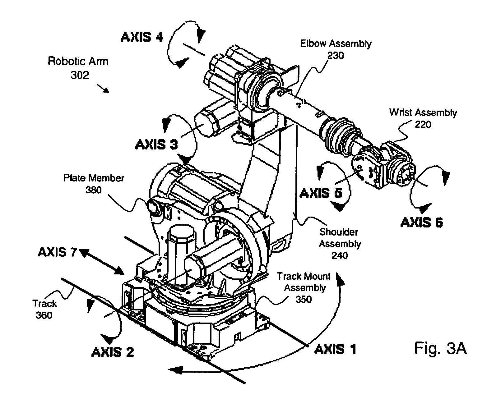 patent us8745789 - robotic arm for patient positioning assembly