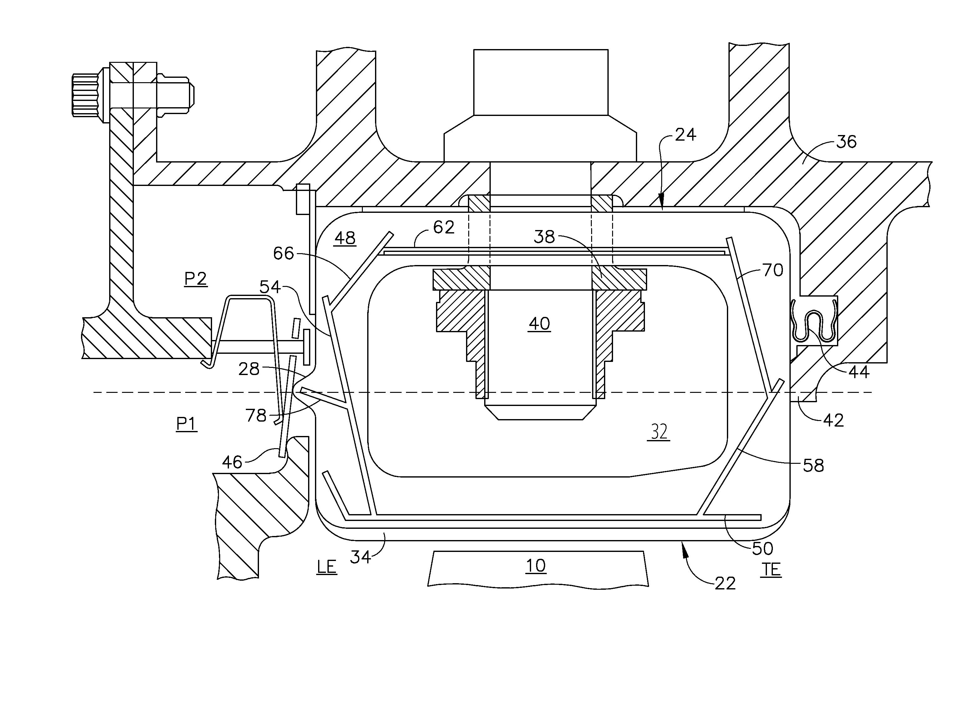 Patent US Turbine shroud sealing apparatus Google