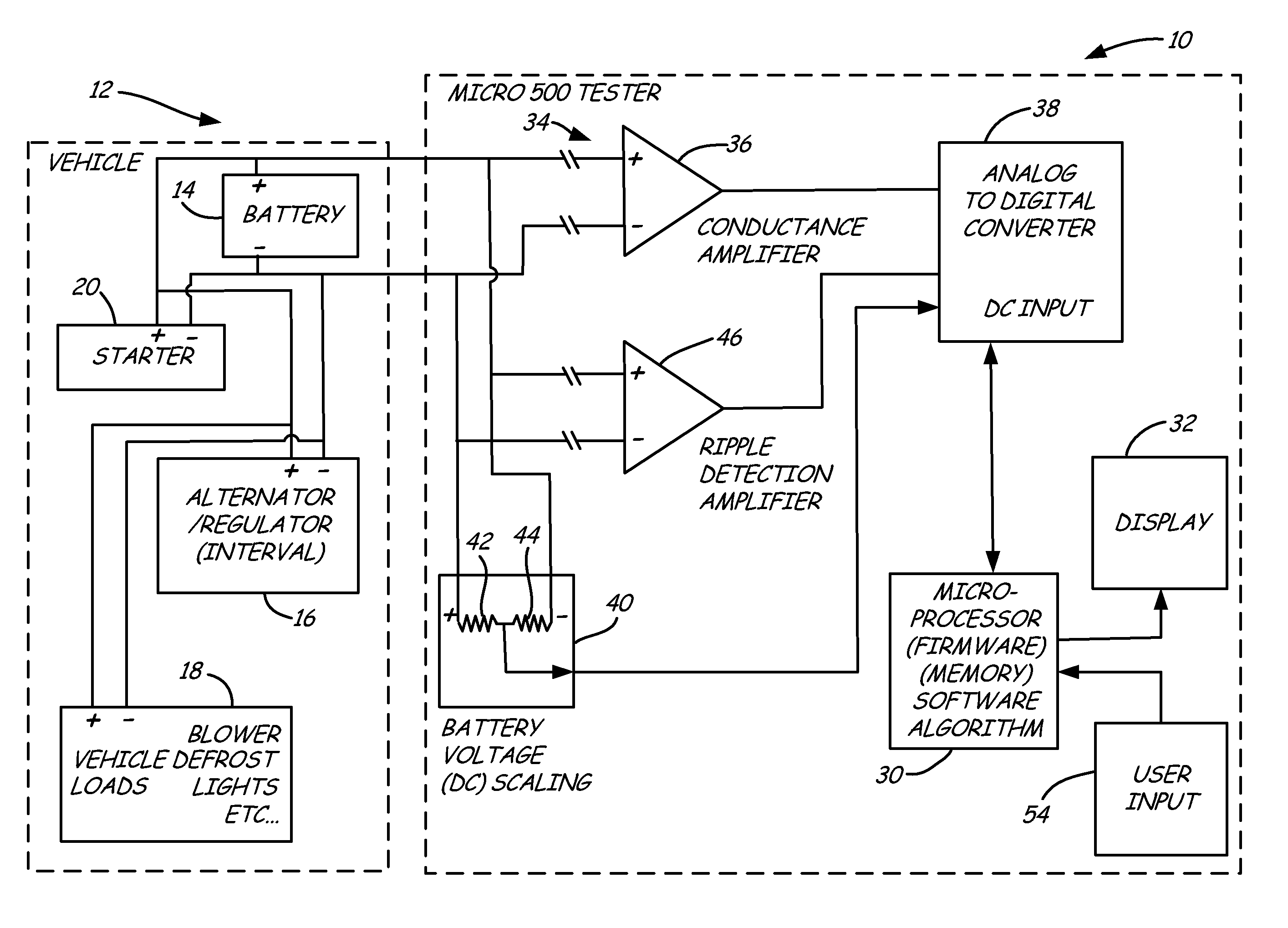 patent us8754653 electronic battery tester patents