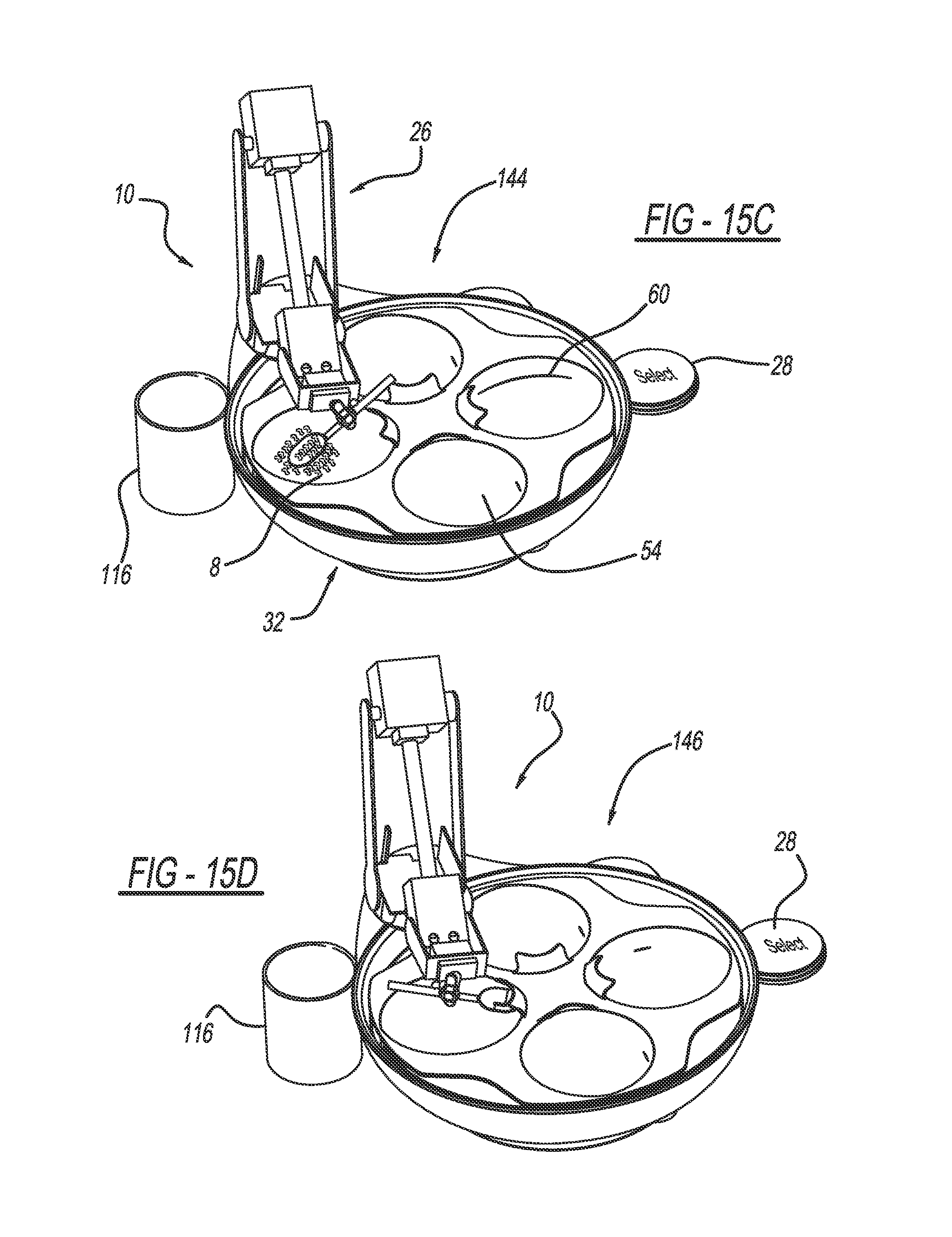 Patent us8761922 method and apparatus for monitoring food on wired jaw