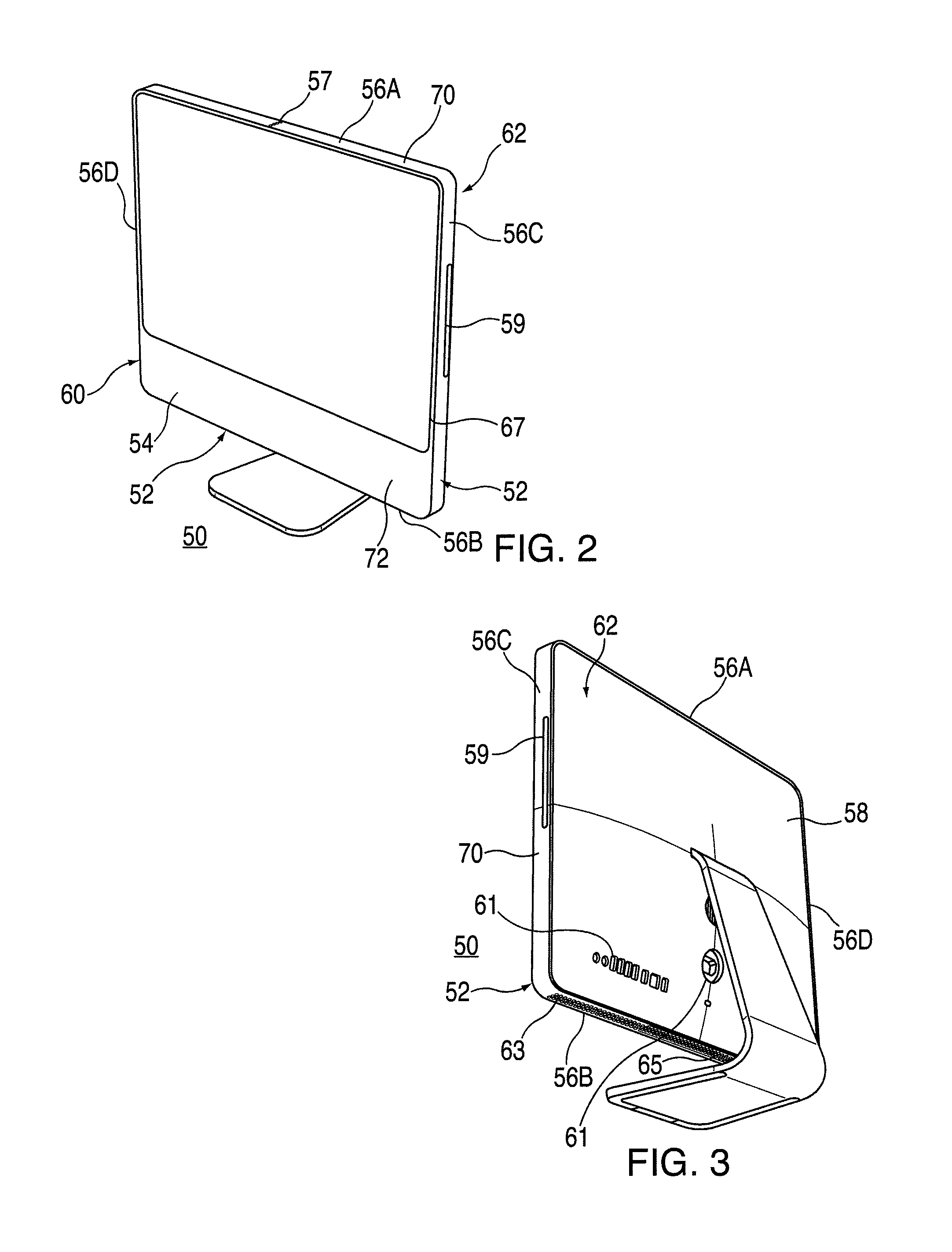 Patent Us8776358 Housing Components For Electronic Devices Figure 2 Simplified Schematic Diagram Of Hard Drive Internals Drawing