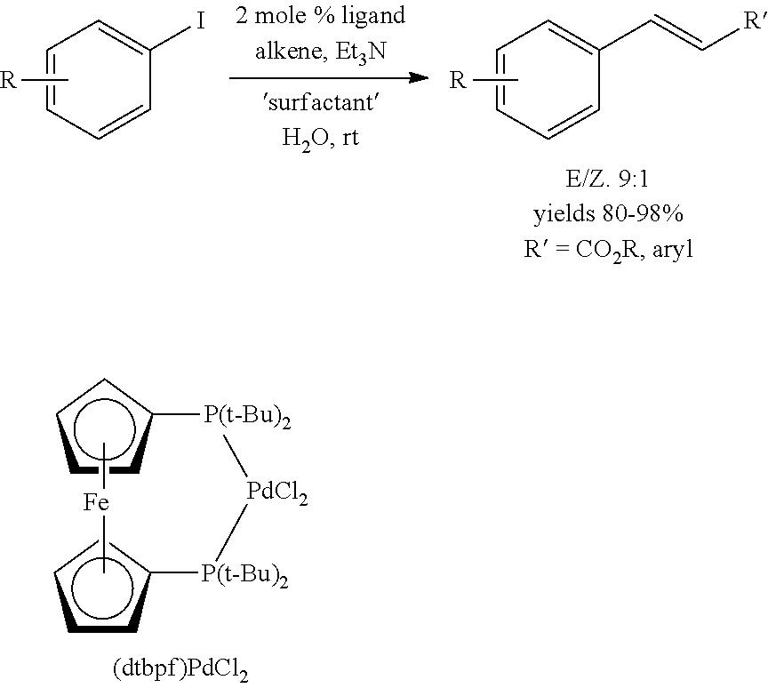 cross metathesis in water