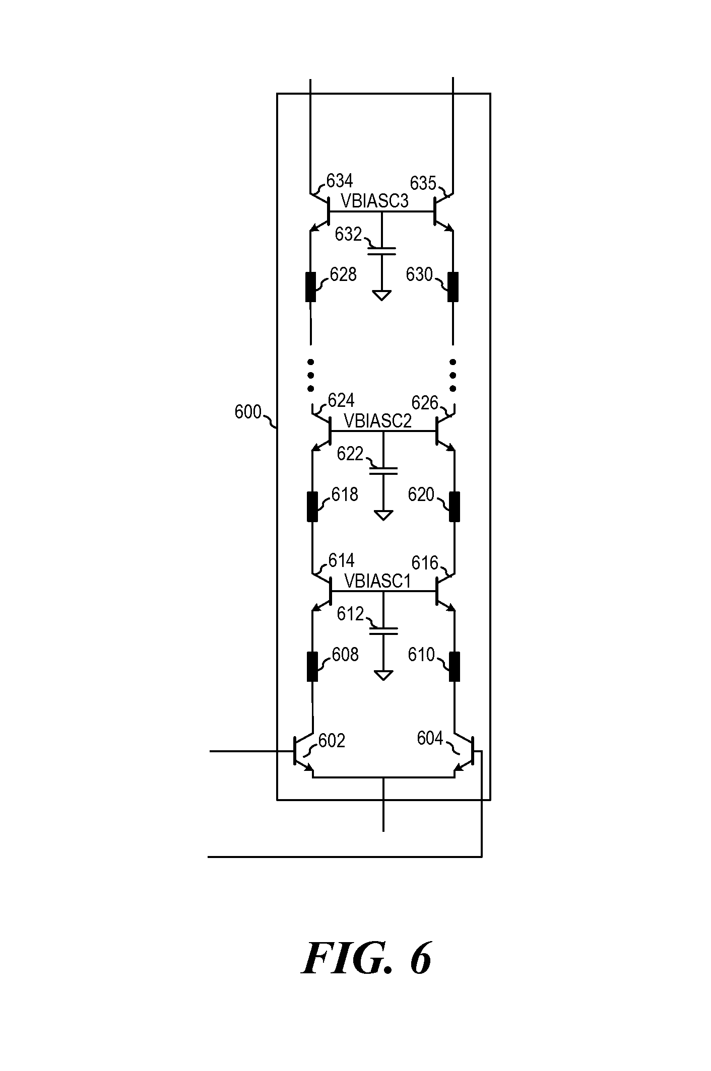 Patente Us8786330 System And Method For A Frequency Doubler Differential Cascode Circuit Driver Patent Drawing