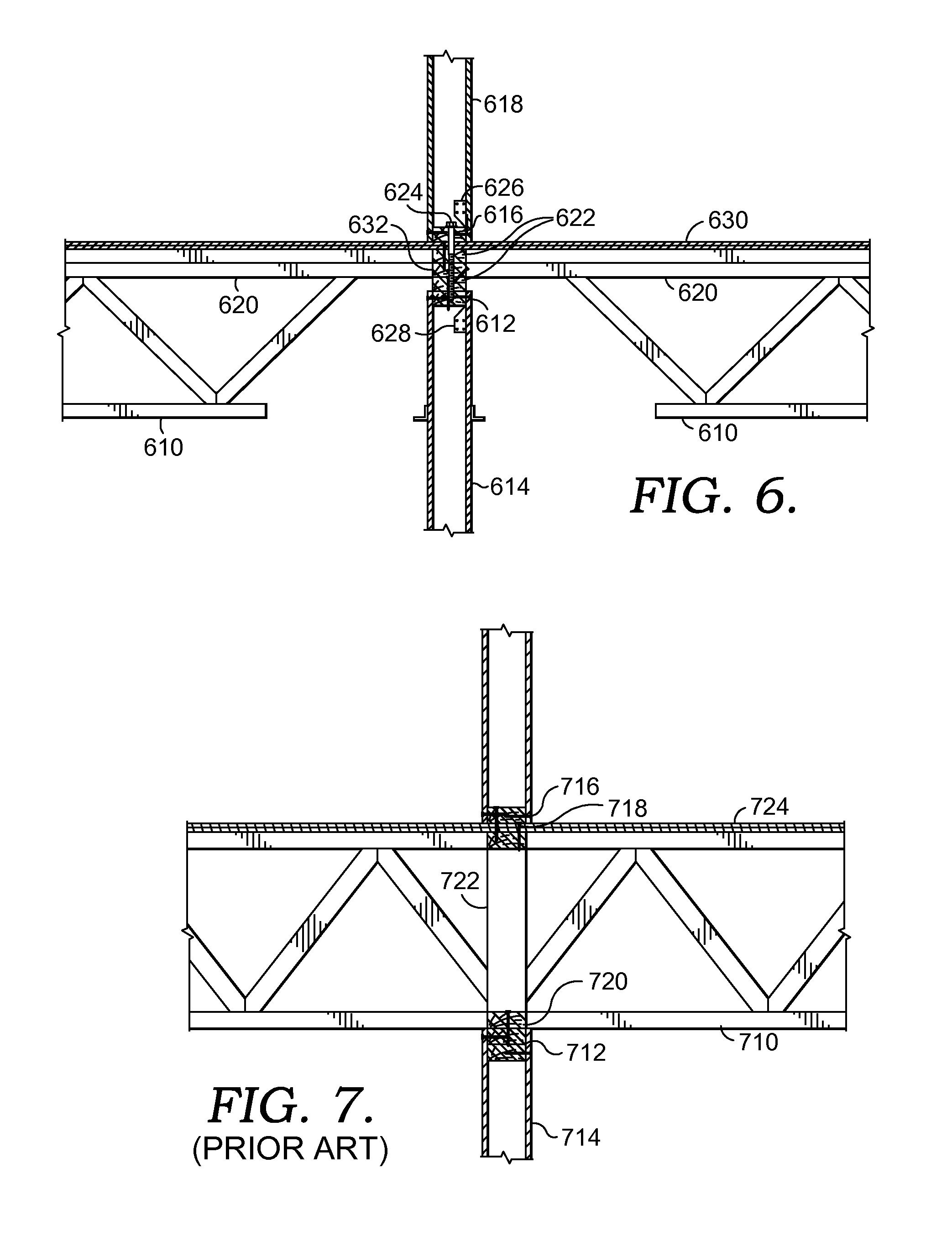 Patent us8789341 hybrid top chord bearing framing system patent drawing hexwebz Choice Image